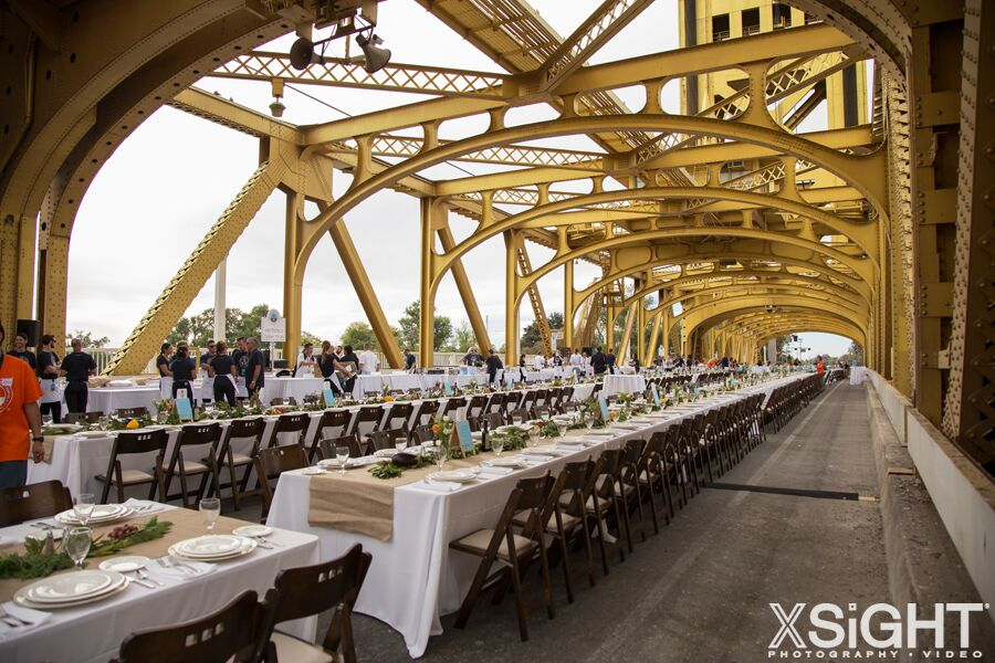 Farm to Fork Fundraiser - Bright Event Rentals