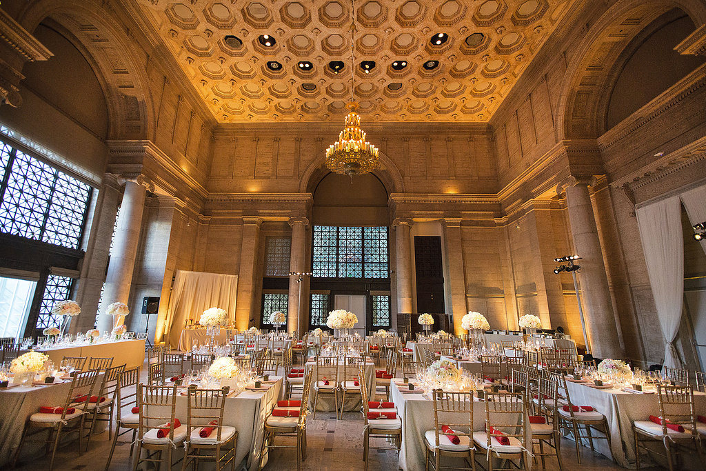 Wedding at the Asian Art Museum - Bright Event Rentals