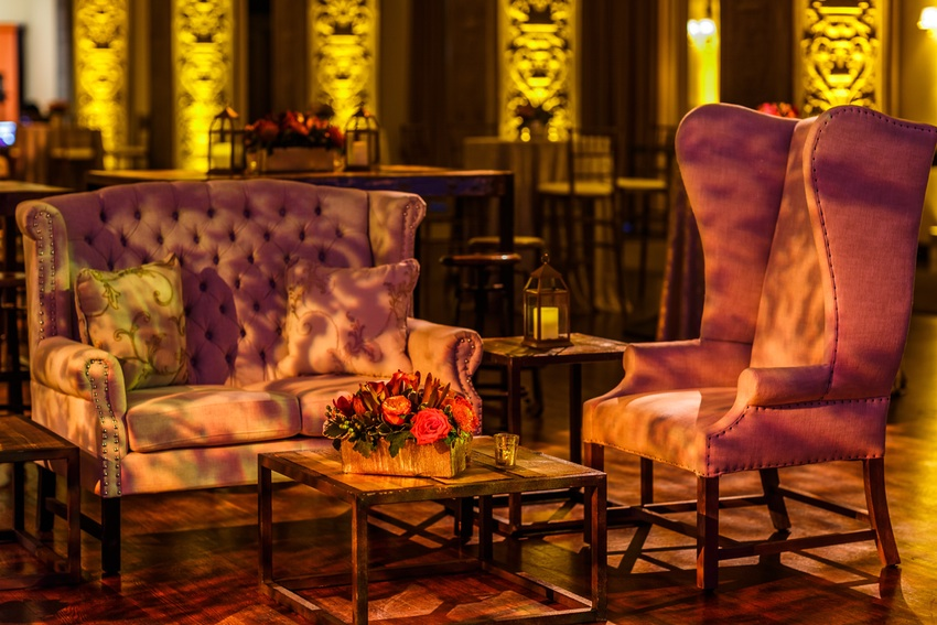 Lounge Style Wedding - Geffen Events