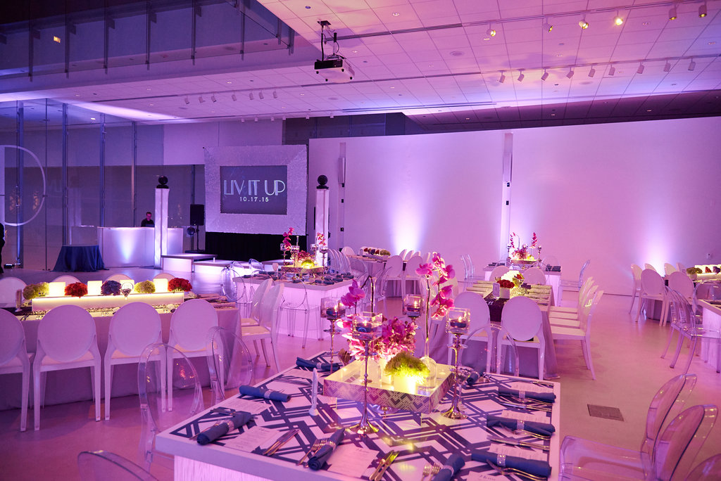 Stylish Purple Bat Mitzvah - Designer Event Chicago