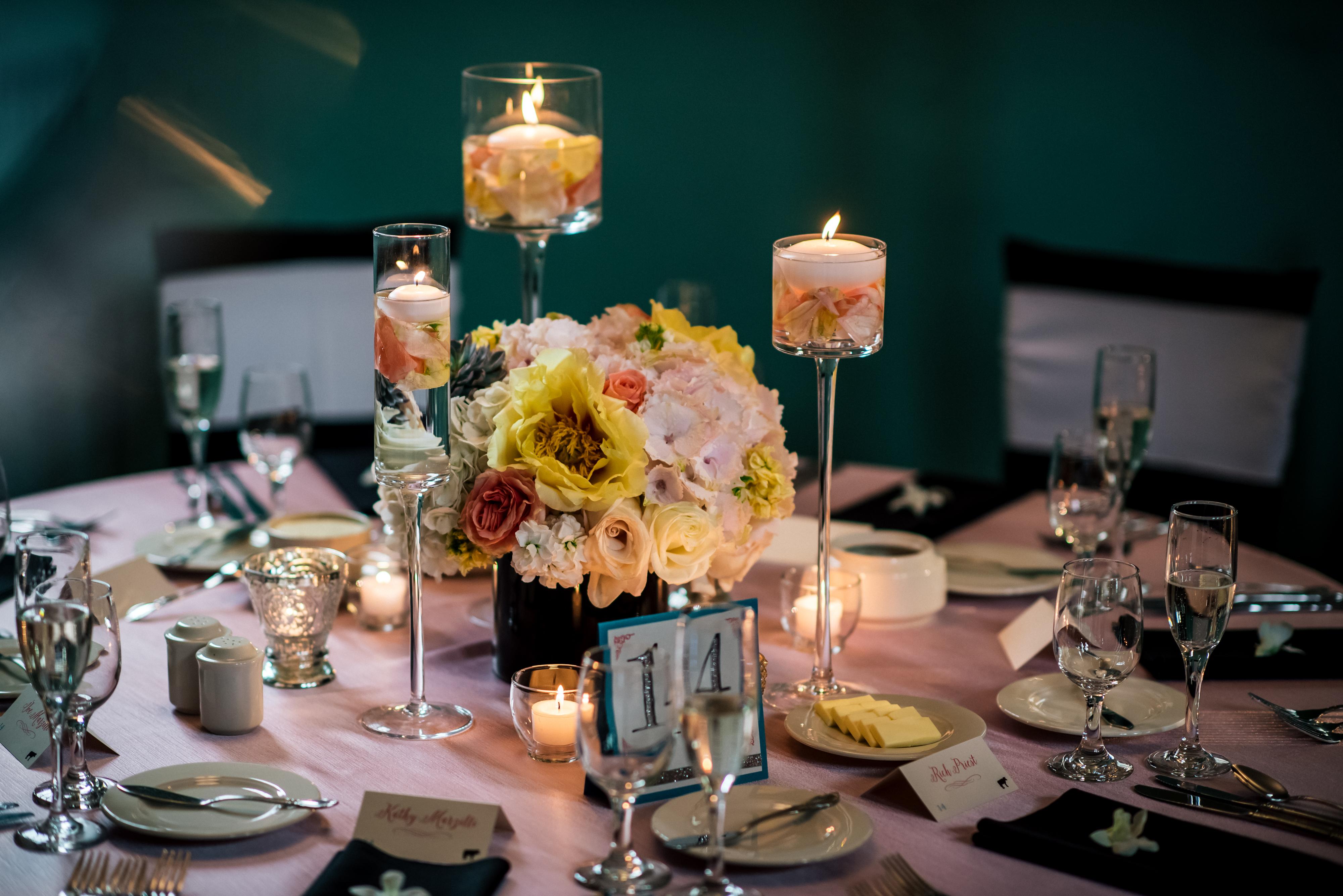 Dazzling Chanel-Inspired Wedding - Neil Leeson Decor Floral