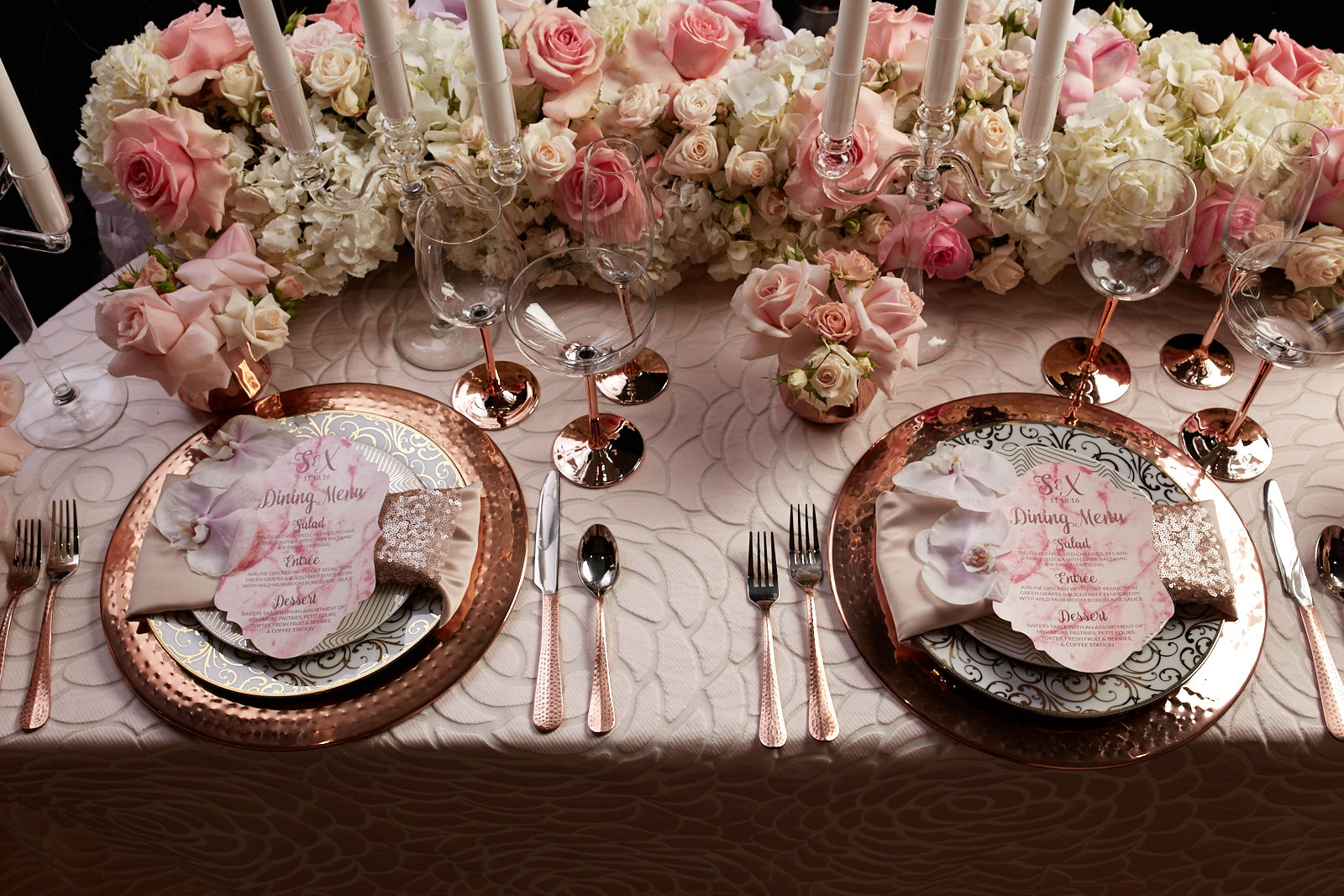 Dinner for Two - Sweetheart Table