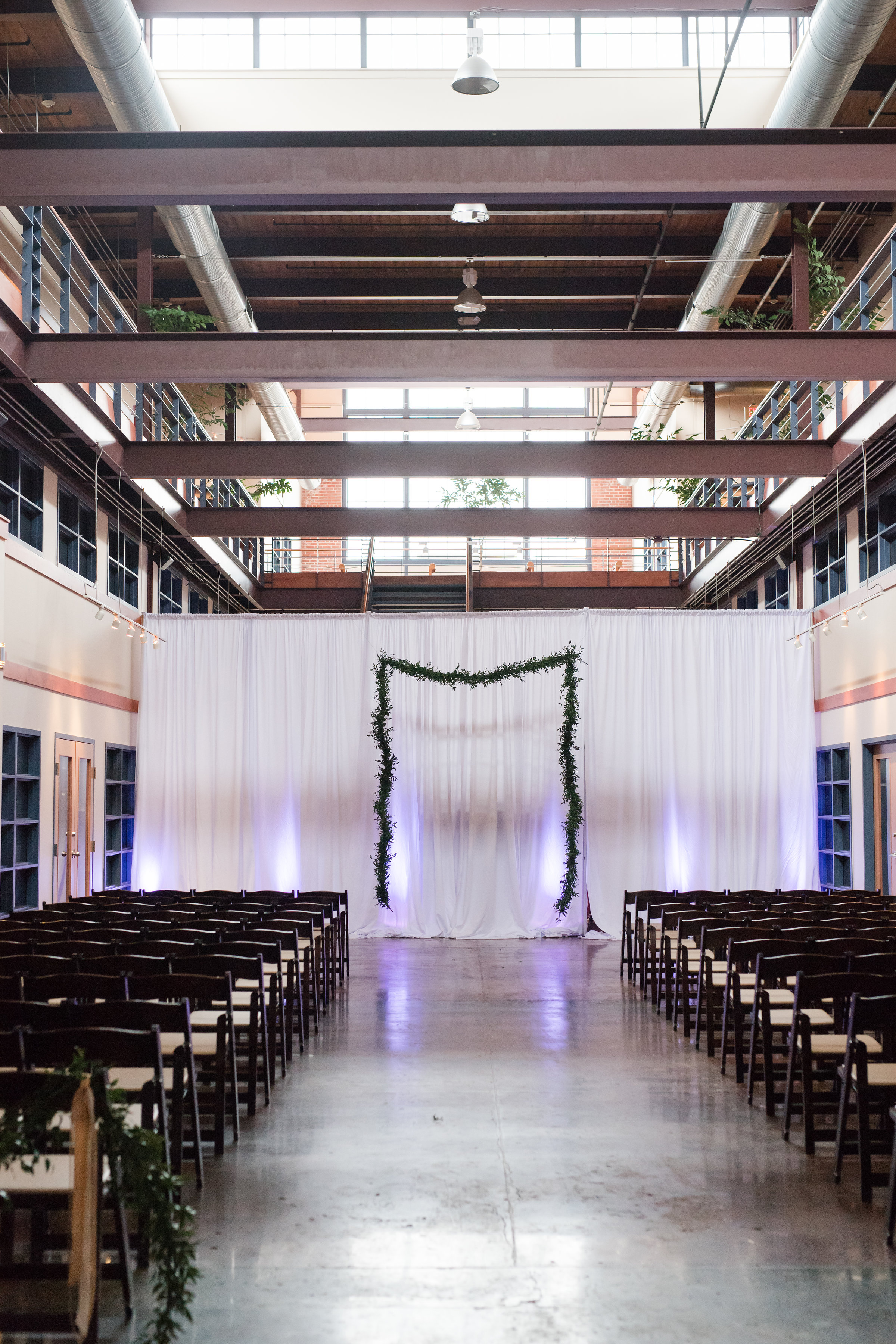 Gracie and Brandon's Industrial Chic Charlotte Celebration - Sunshower Photography