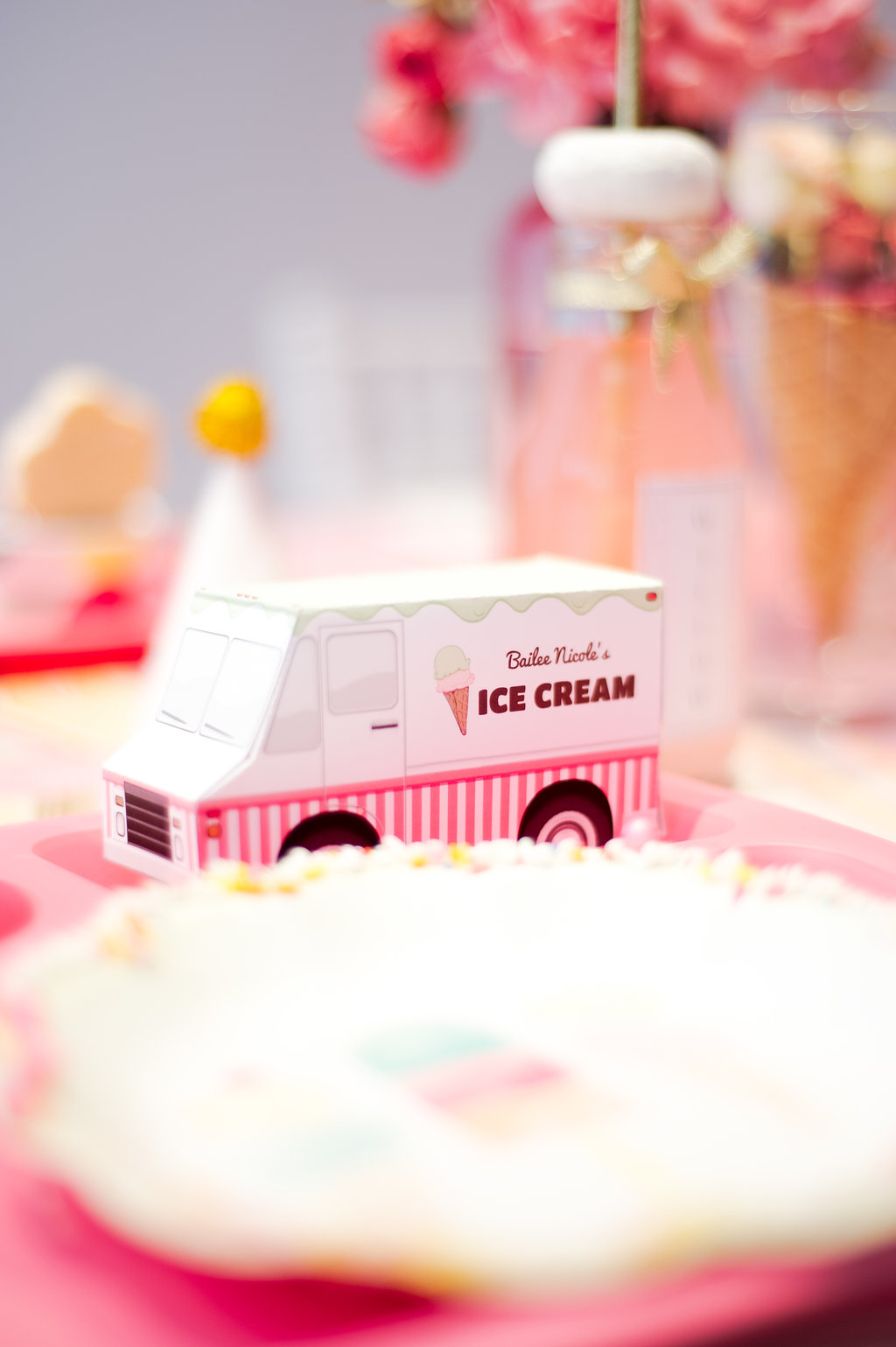 Chicago Parent Magazine - Bailee's Ice Cream Birthday Parlor - Nicole Marie Events