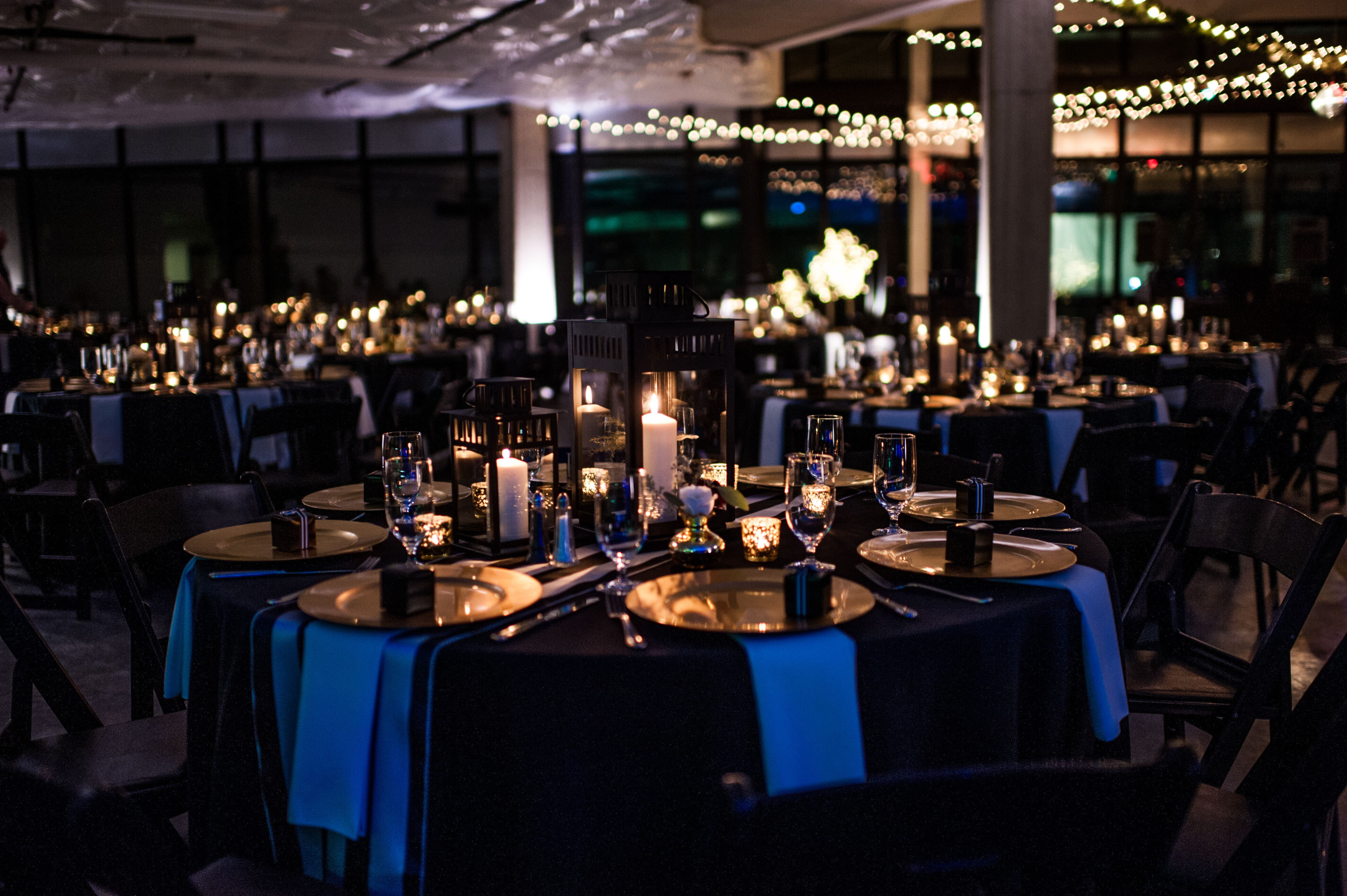 American Life, Inc. & SODO Builders, LLC Corporate Holiday Party 2016 - Candice Luth Wedding & Event Design
