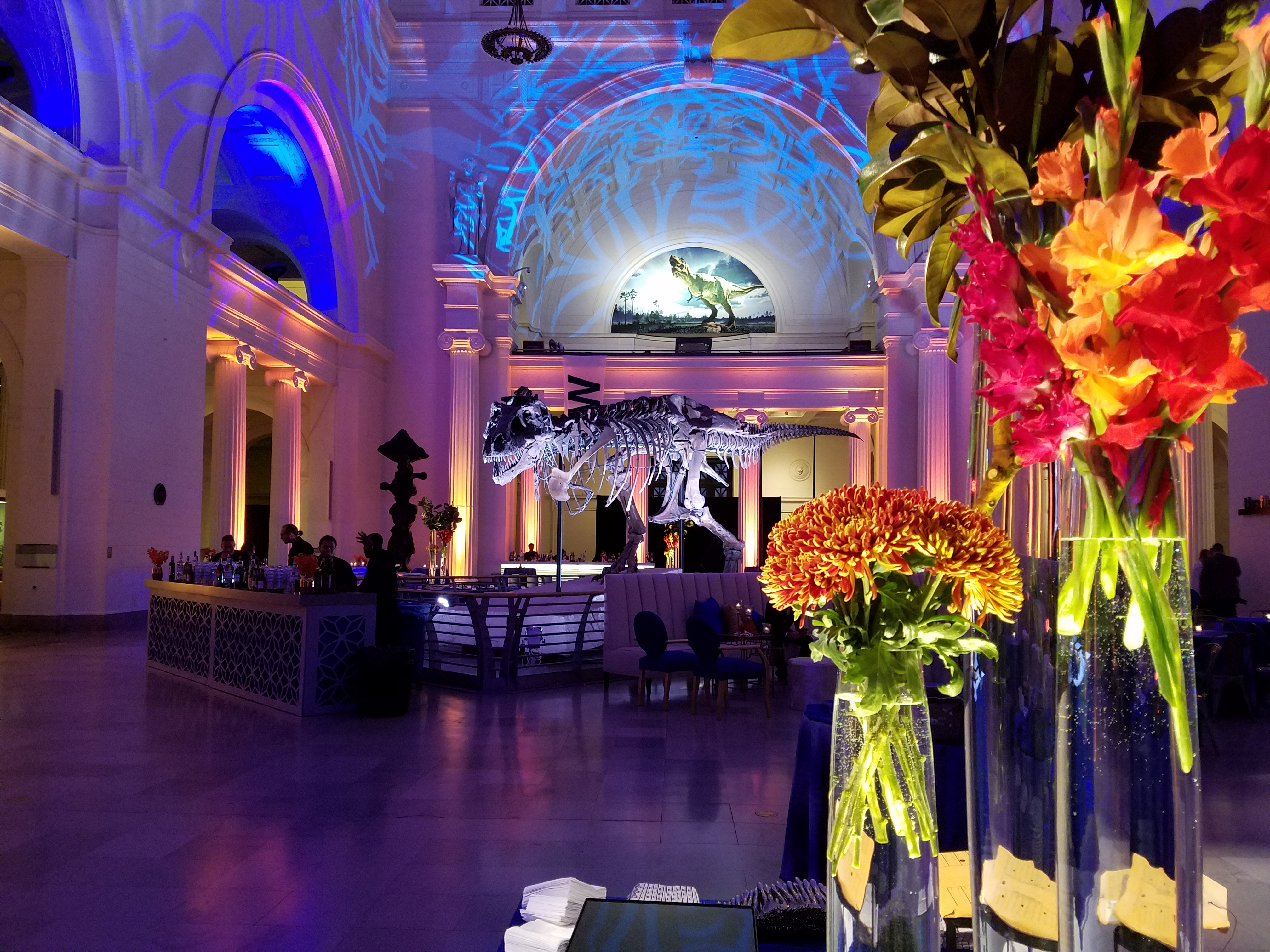 Corporate Party Celebration at Chicago's Field Museum - Blue Plate Catering