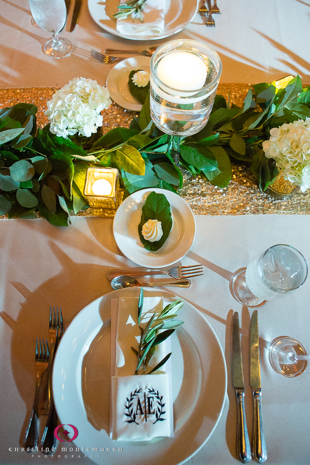 Glamourous Grecian Reception - Mosaic Inc
