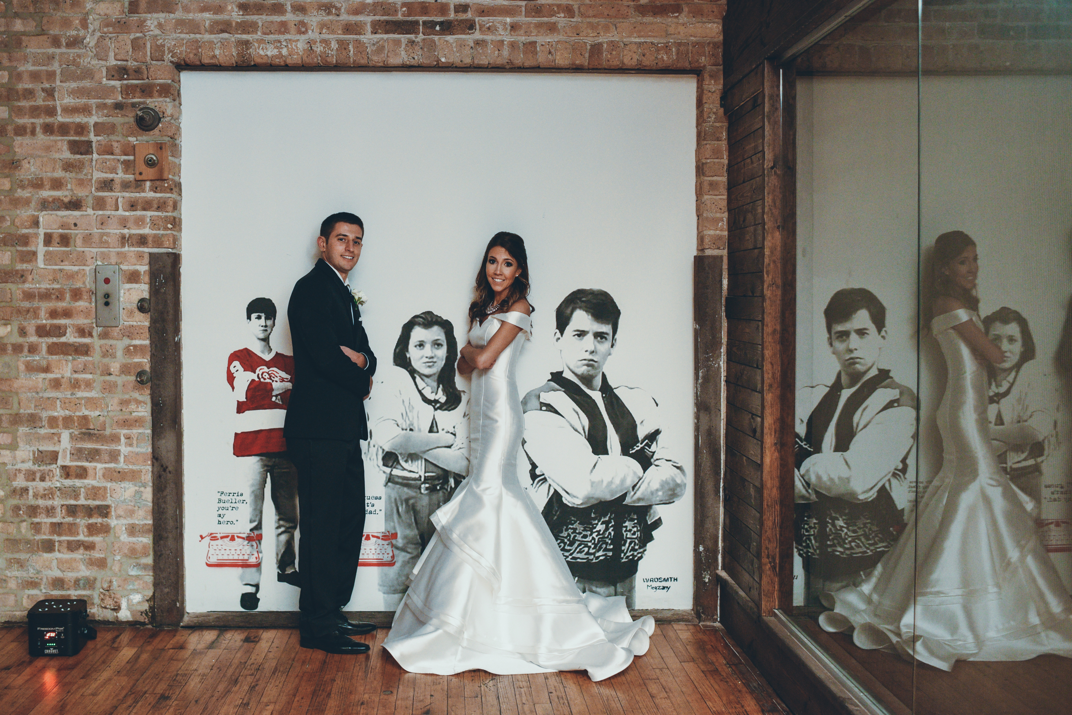 Caitlin & Tony New Year's Wedding - Lacuna Events by LM