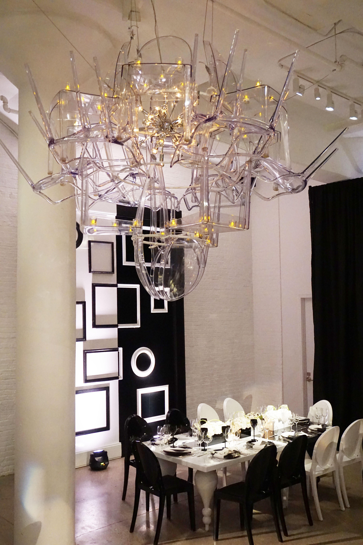 Black & White Corporate Dinner - Chez