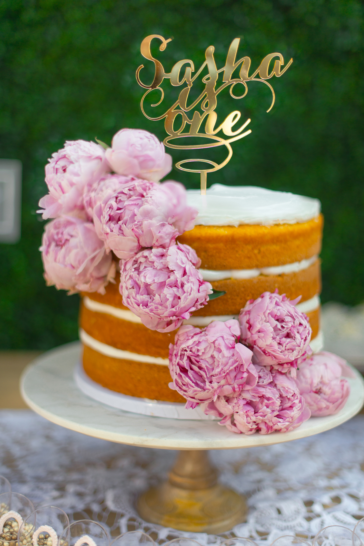 Vintage Blush 1st Birthday - Sonia Sharma Events
