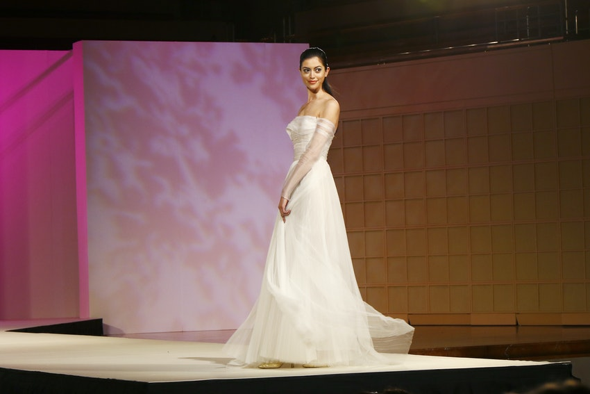 Fashion Show - White Dress