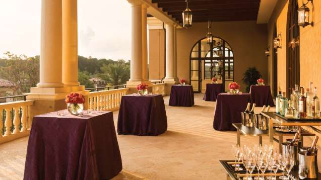 Grand Ballroom Terrace - Four Seasons Resort Orlando at Walt Disney World® Resort