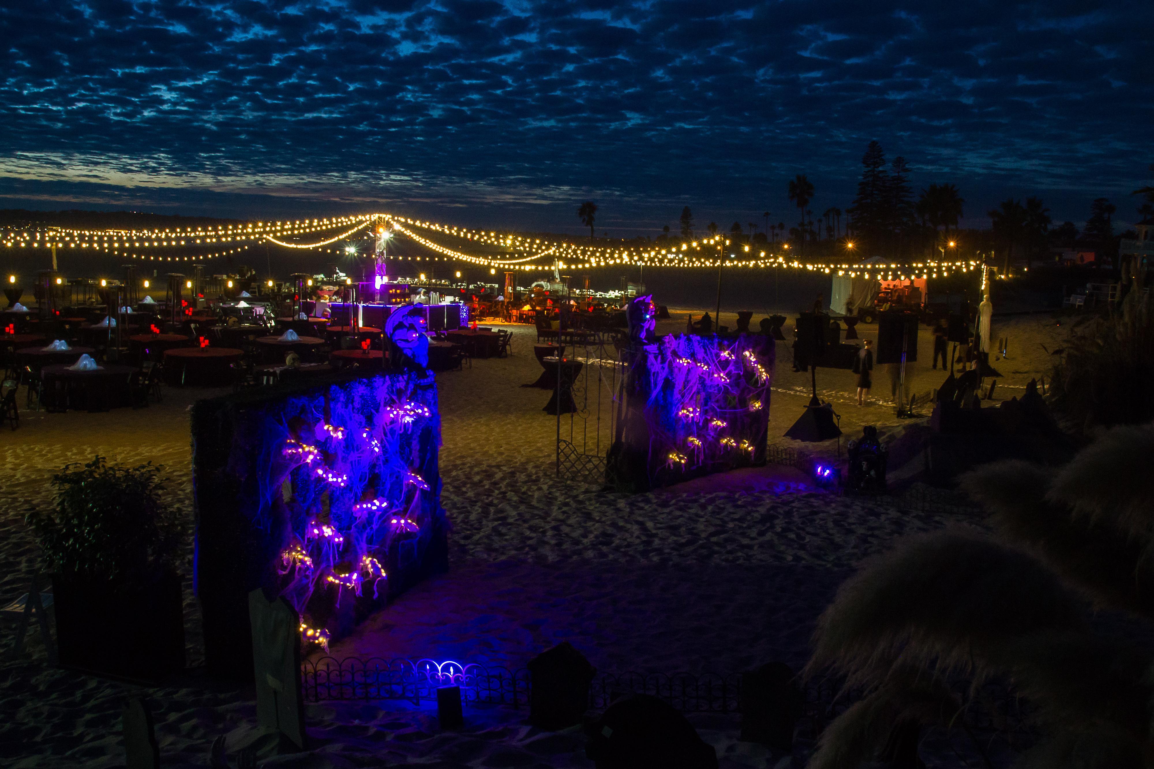 Grace Fox Designs - Halloween Beach Party - PartySlate
