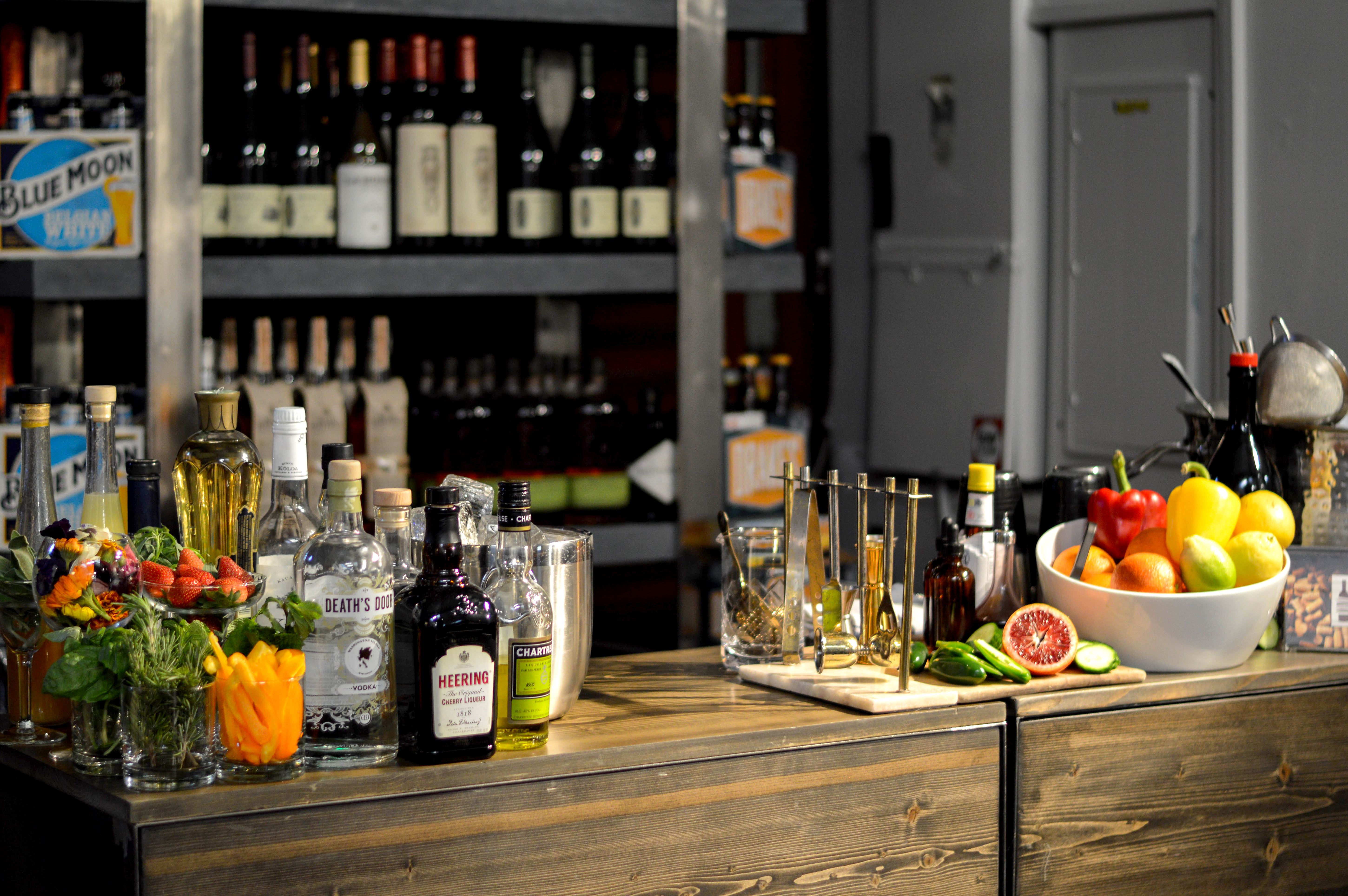 Wine Meats Cheese Cocktail Party - Barbara Llewellyn Catering and Event Planning