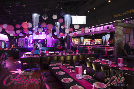Sweet Pink Bat Mitzvah - Events by Allyne