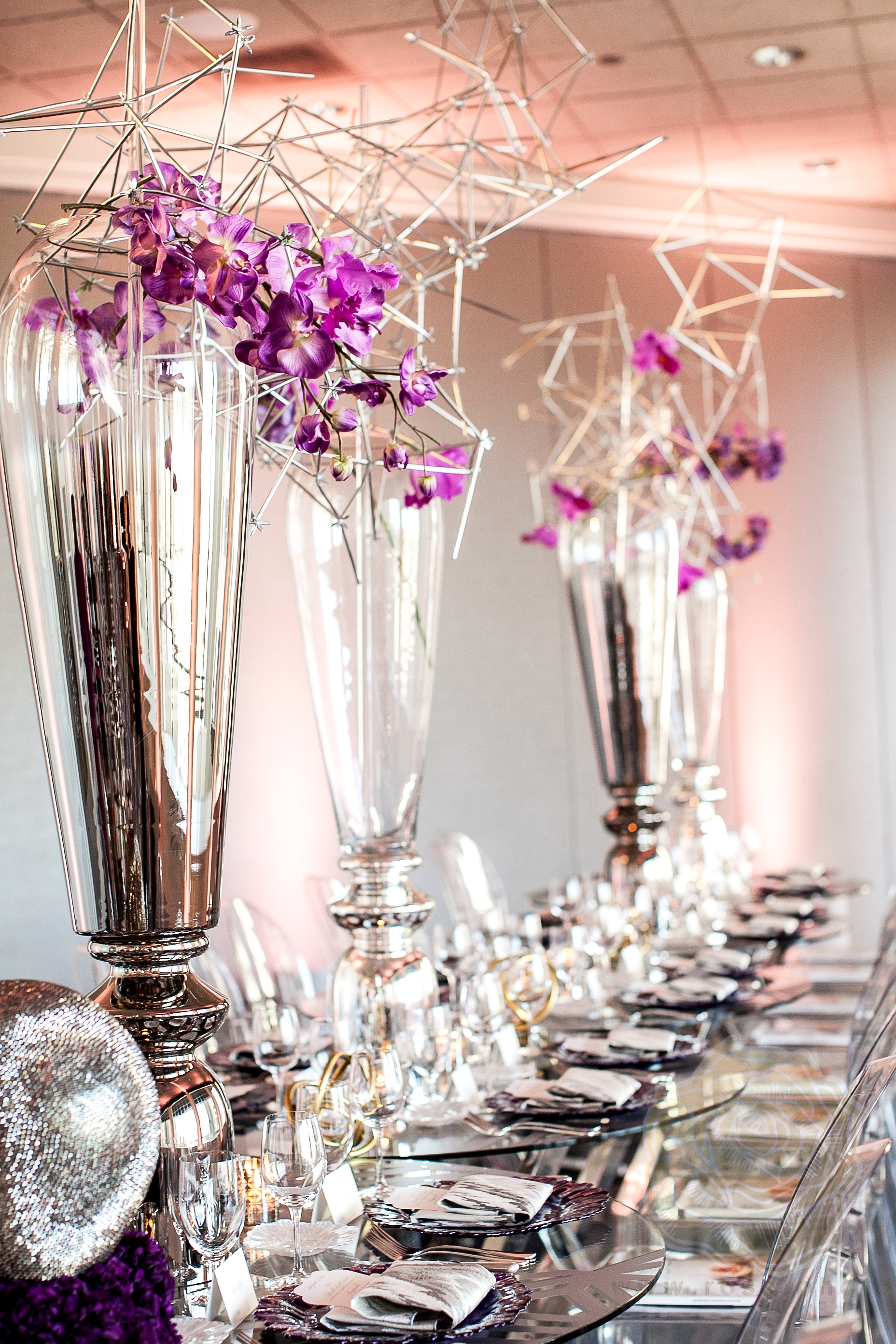 Modern Luxury Wedding Planner Luncheon - Spiaggia Restaurant and Lounge