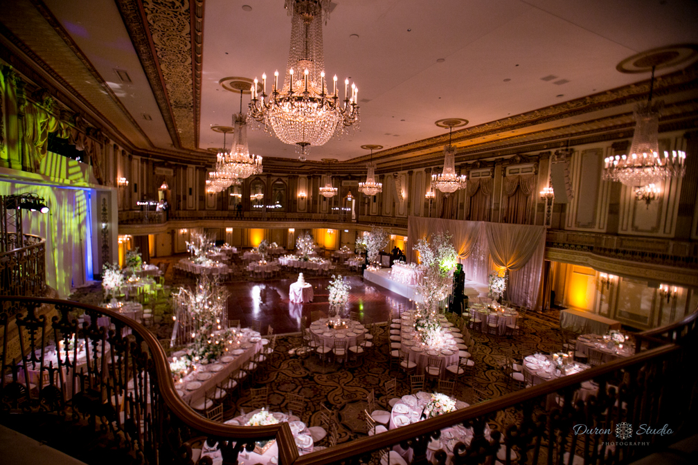Beautiful wedding reception decor