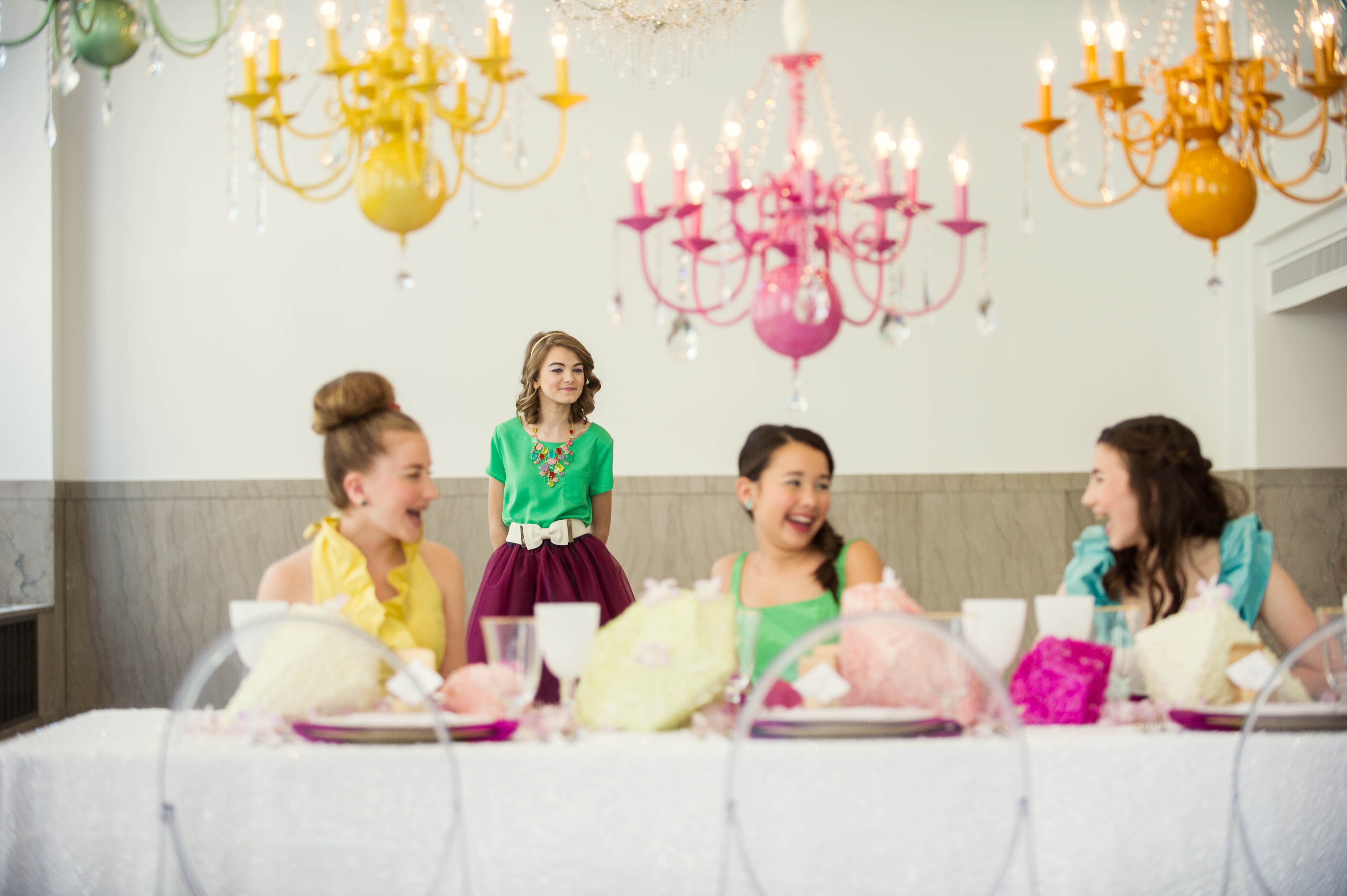 Gorgeous Gems Bat Mitzvah Inspiration - Jubilee Events