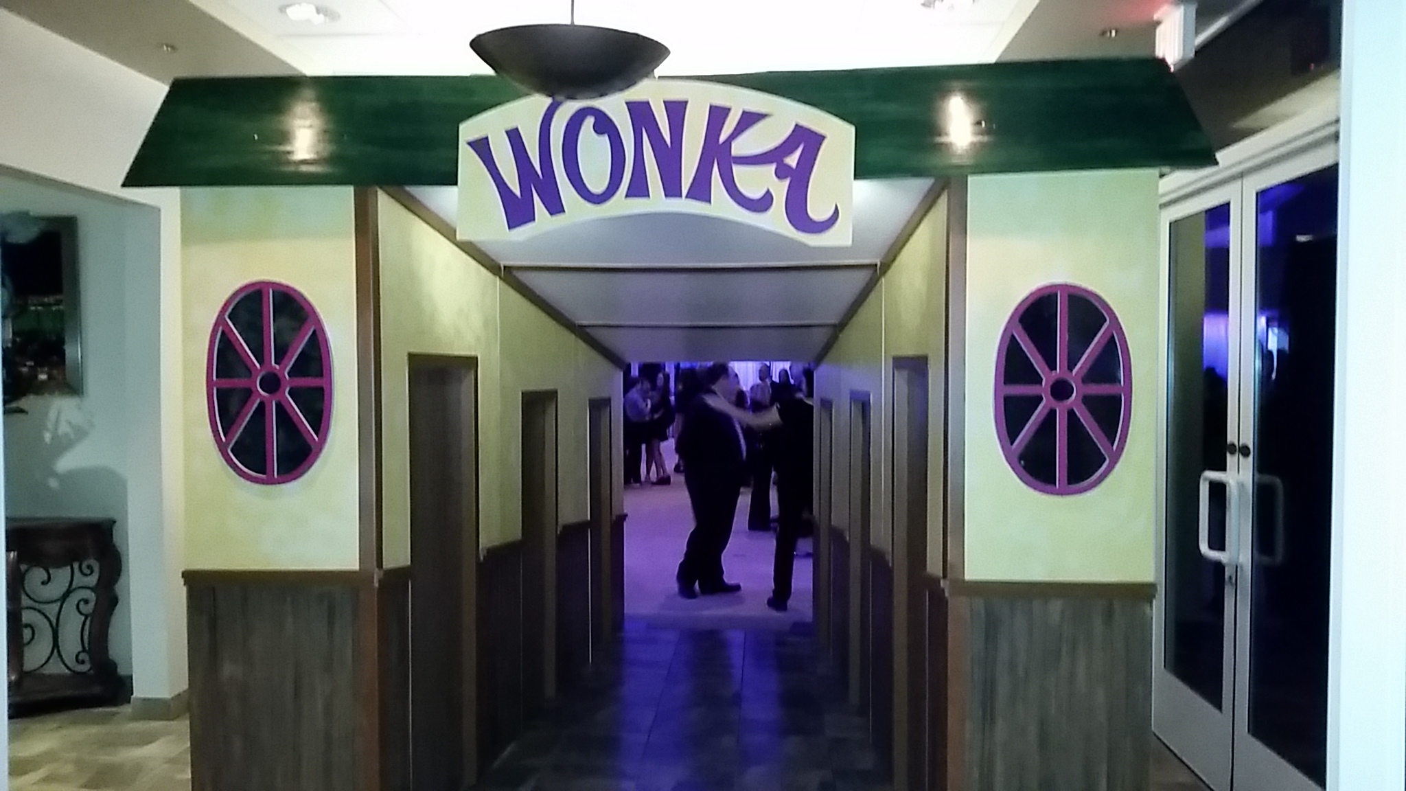 Willy Wonka Party - Amusement, Exhibit & Event Services (AE&ES)