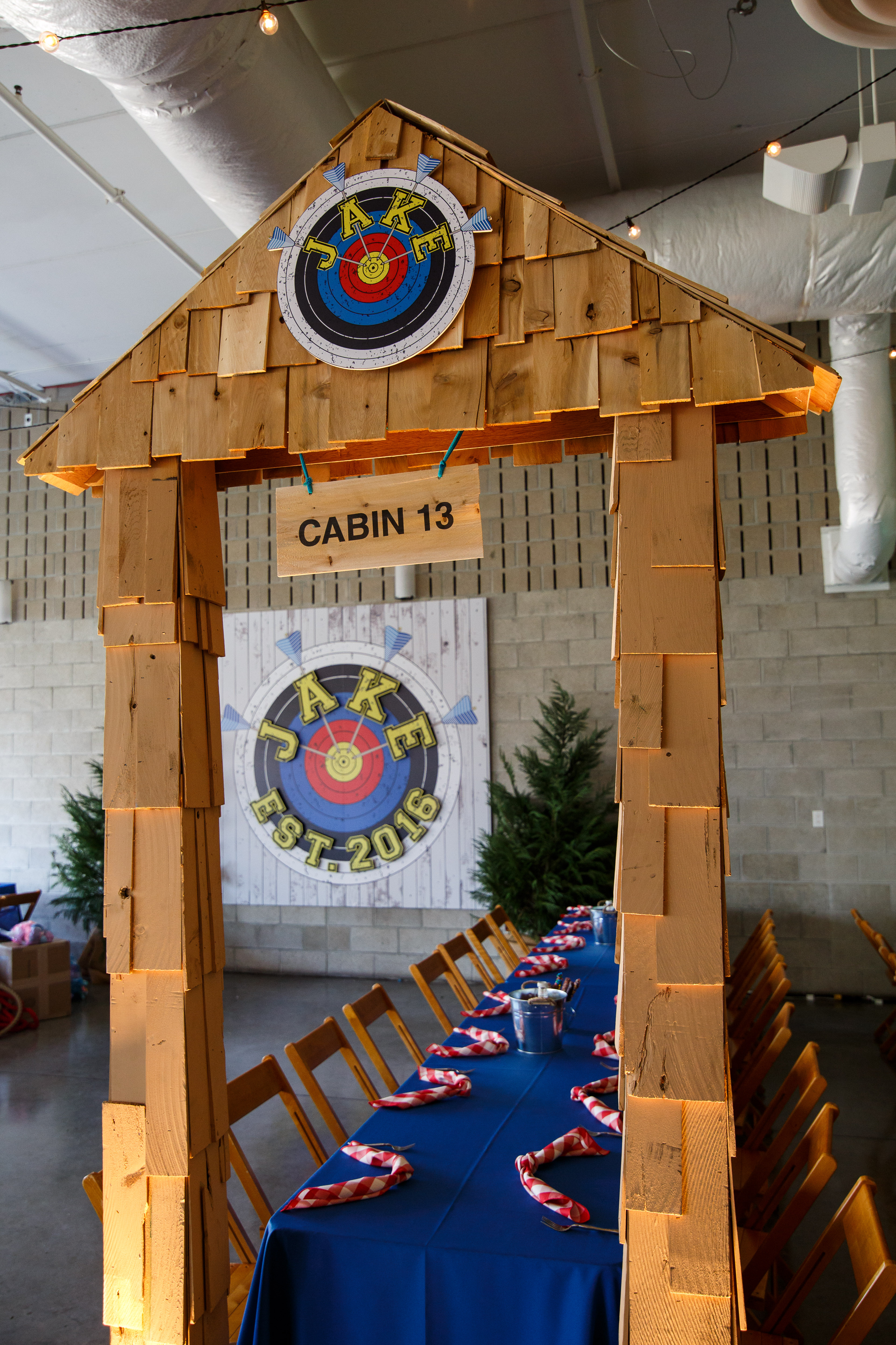 Summer Camp Themed Bar Mitzvah - BCR Events