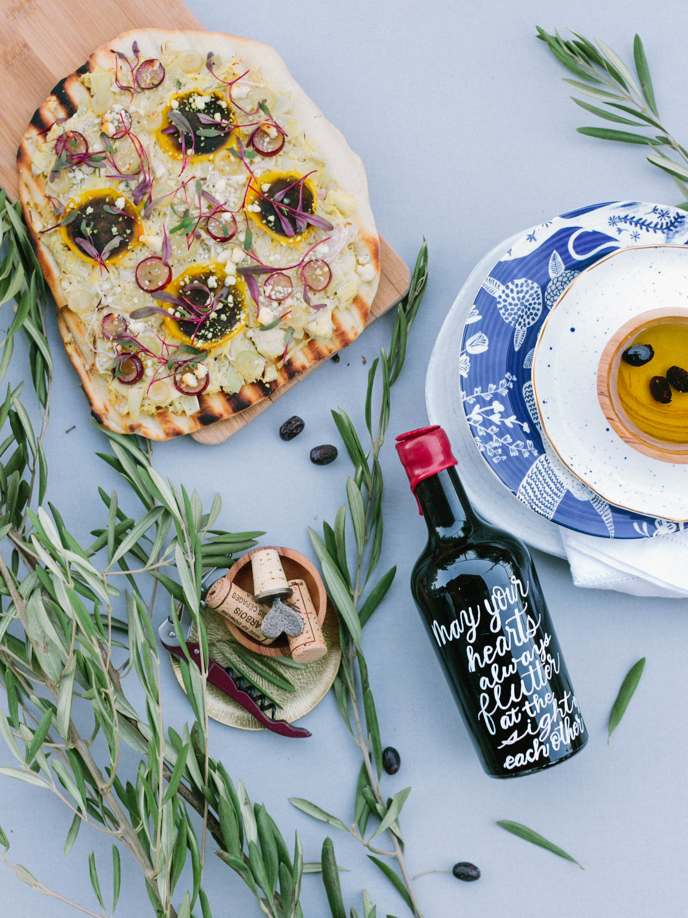 Flutter Magazine Welcome Events - Tuscany, Cabo, Coastal, Picnic - The Lynden Lane Company