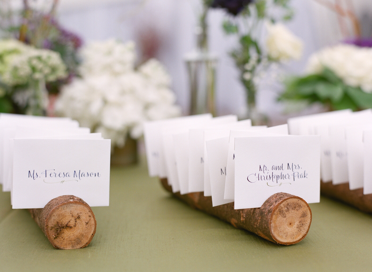 Jennifer Anderson Events | Woodland Wedding | PartySlate