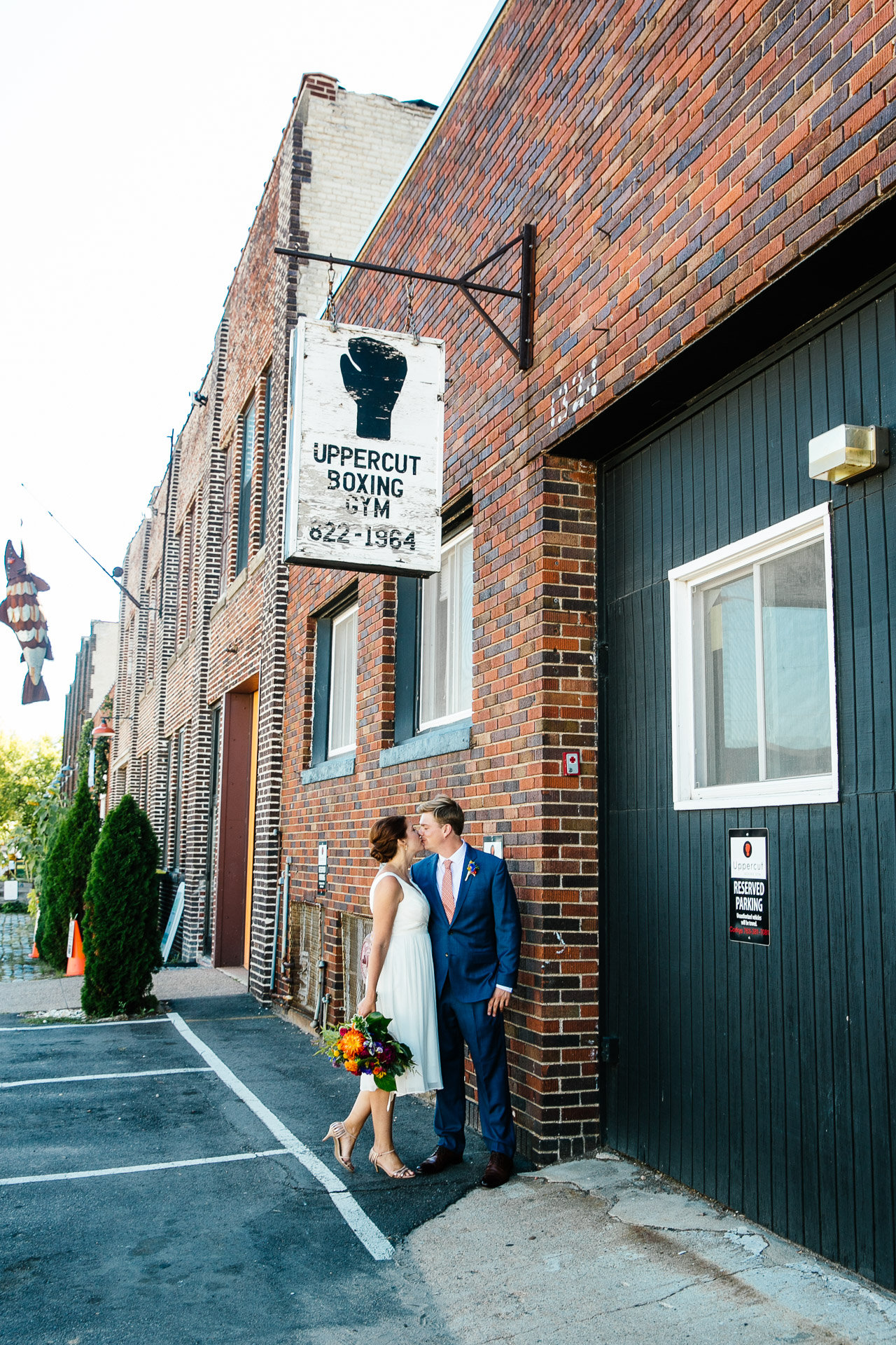 Vibrant Boxing Gym Wedding - Rocket Science Events
