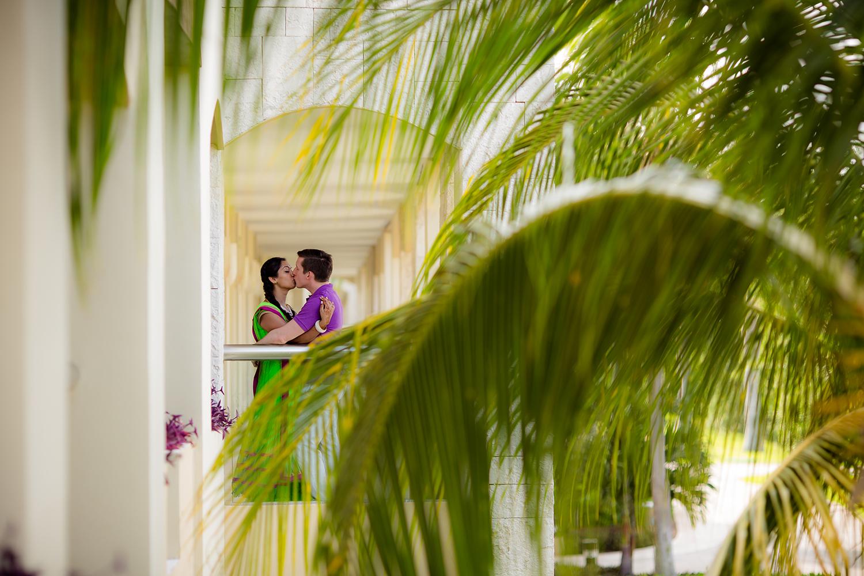 Fun Hindu Beach Wedding - Rebecca Marie Photography