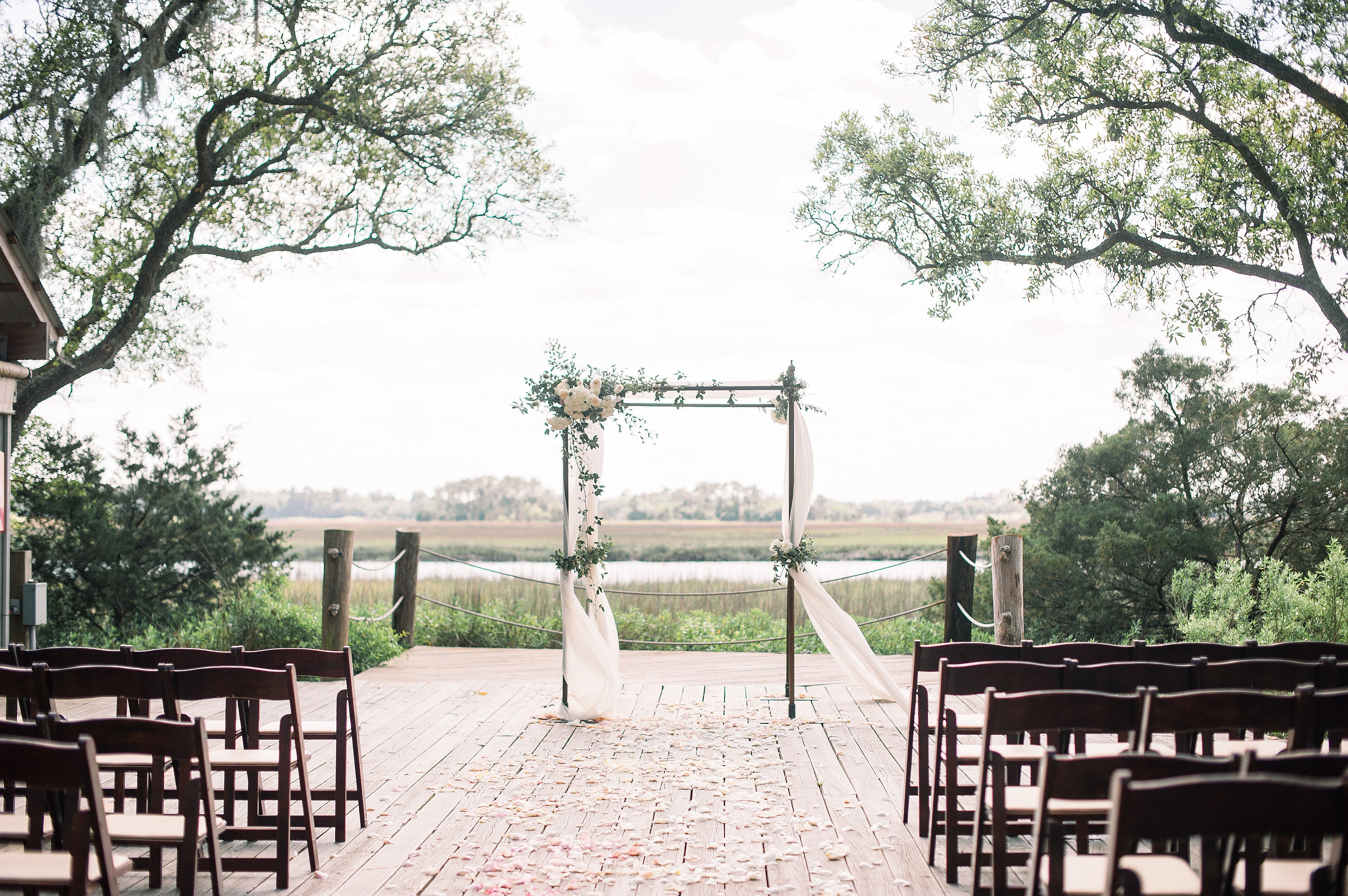 Rustic Modern Outdoor Wedding - WED