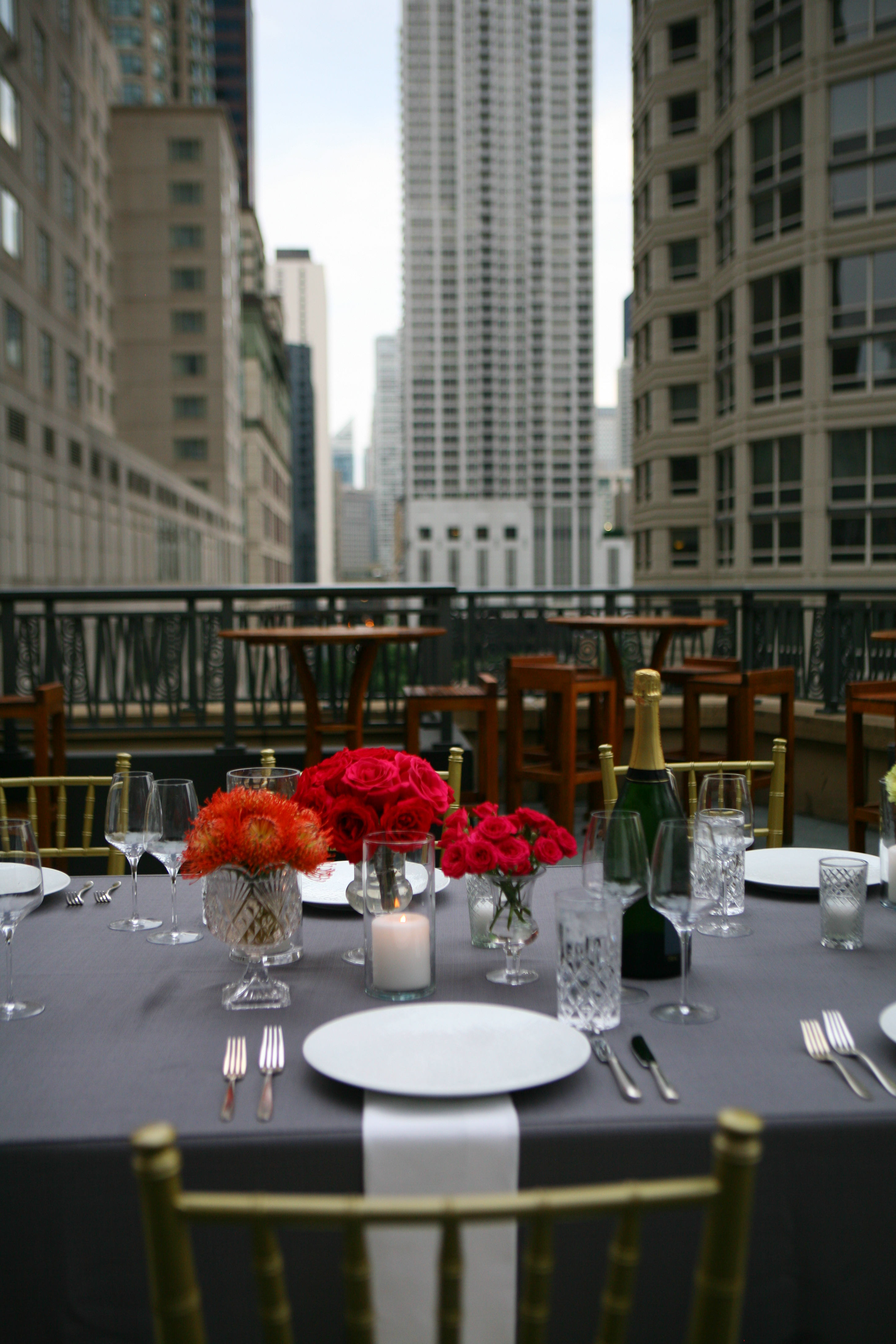 Dinner in the Garden - Park Hyatt Chicago