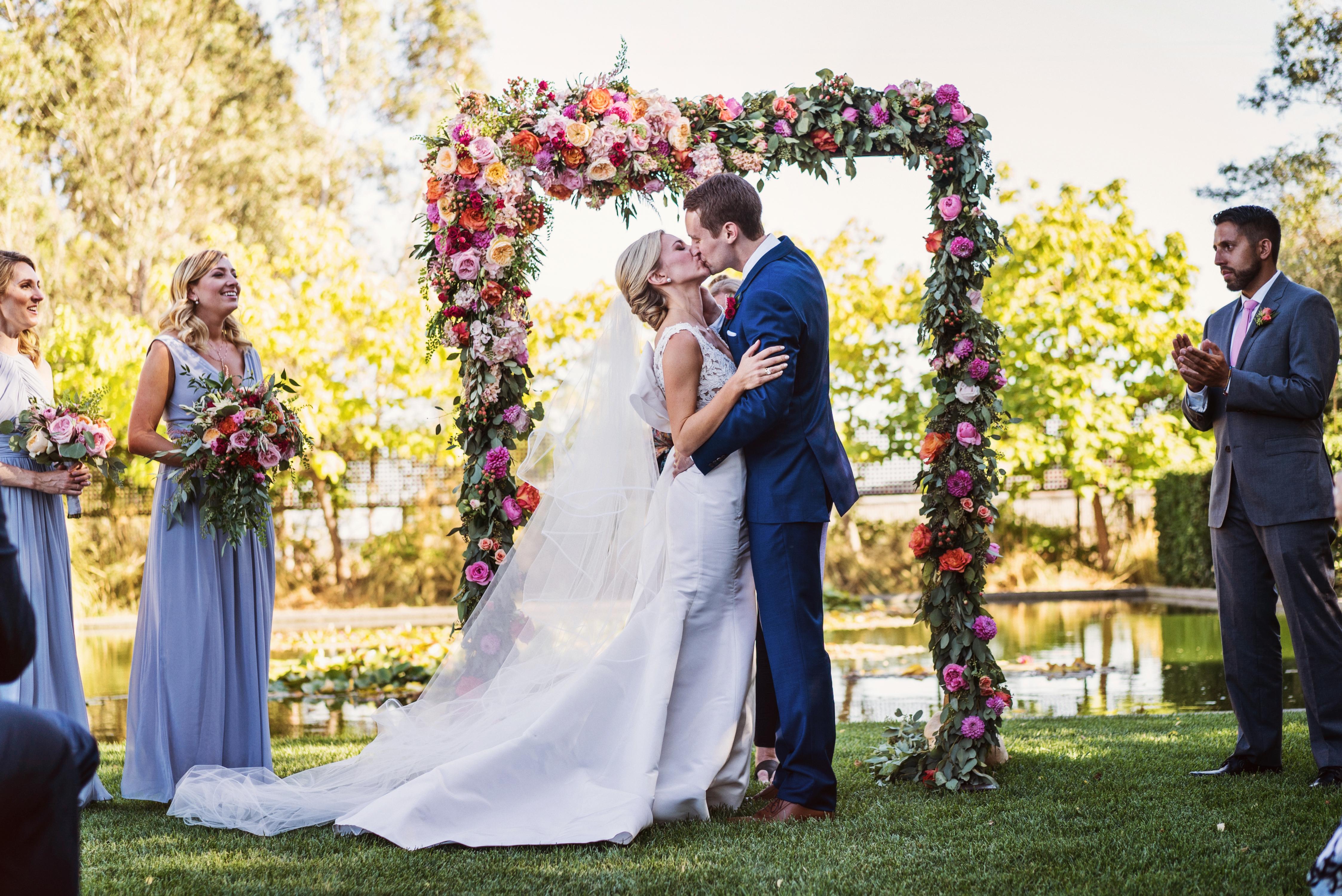 Vibrant Garden Wedding | Cornerstone Gardens Sonoma - Andrew Weeks Photography