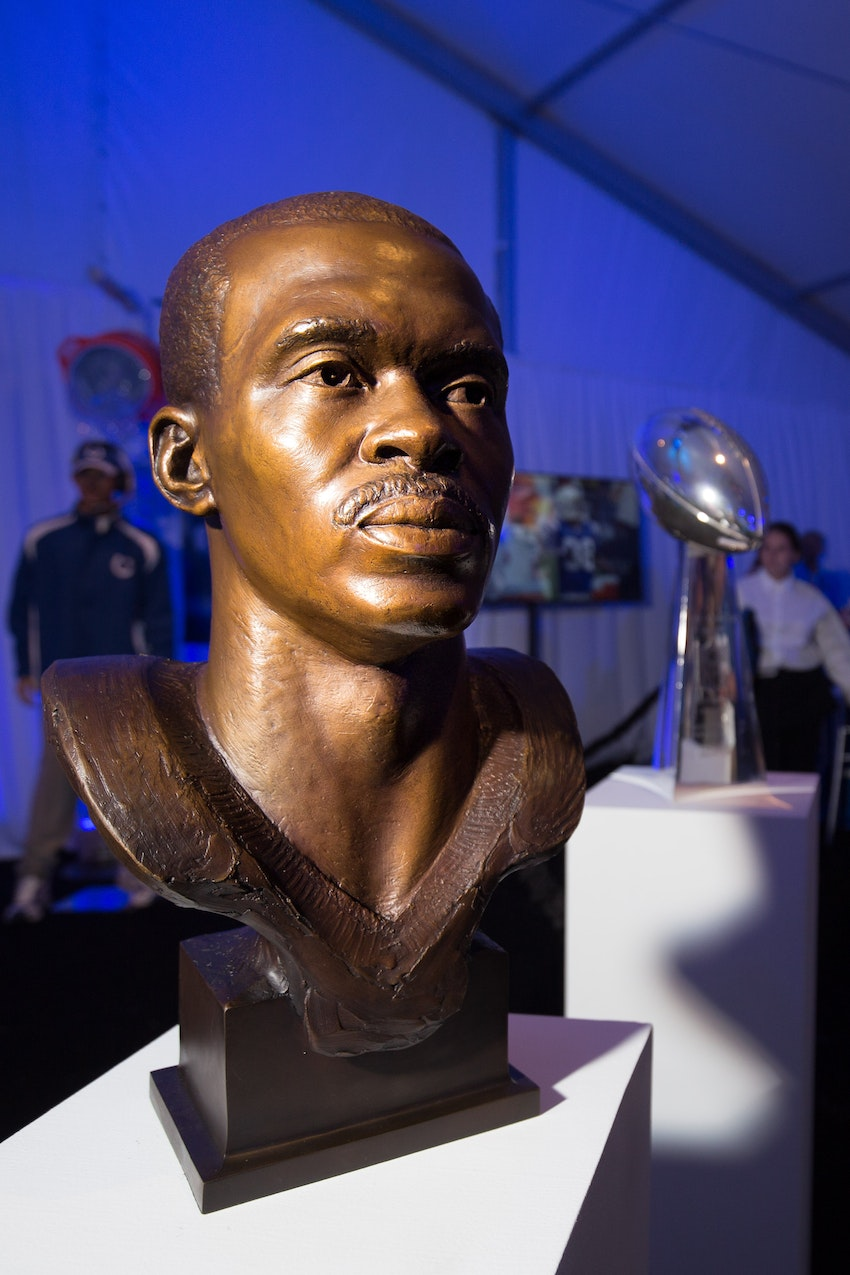 Marvin Harrison Bronze Bust