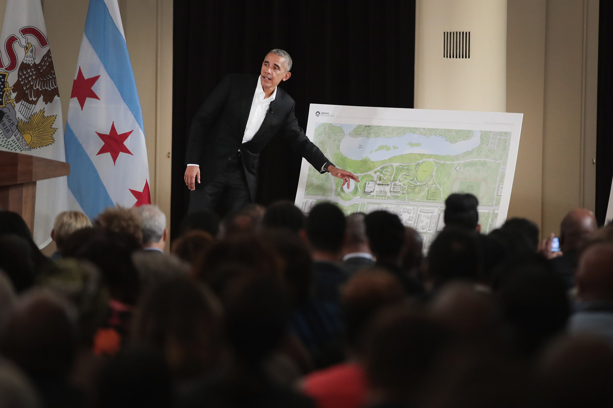 Obama Presidential Center Reveal - Nicole Marie Events