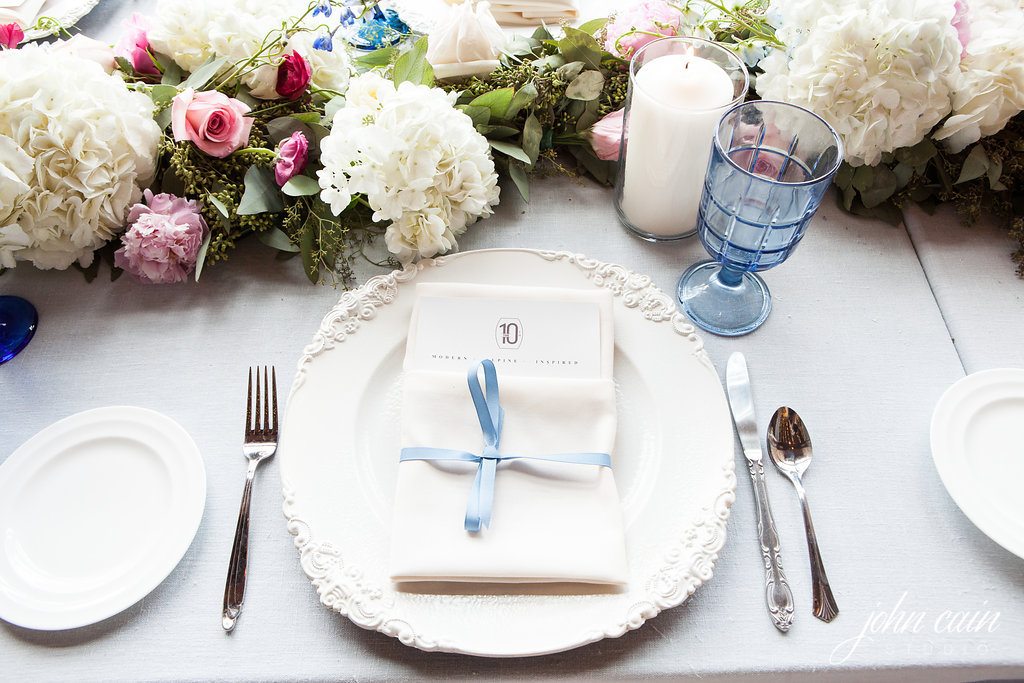 French Blue & White Wedding - Bella Design & Planning