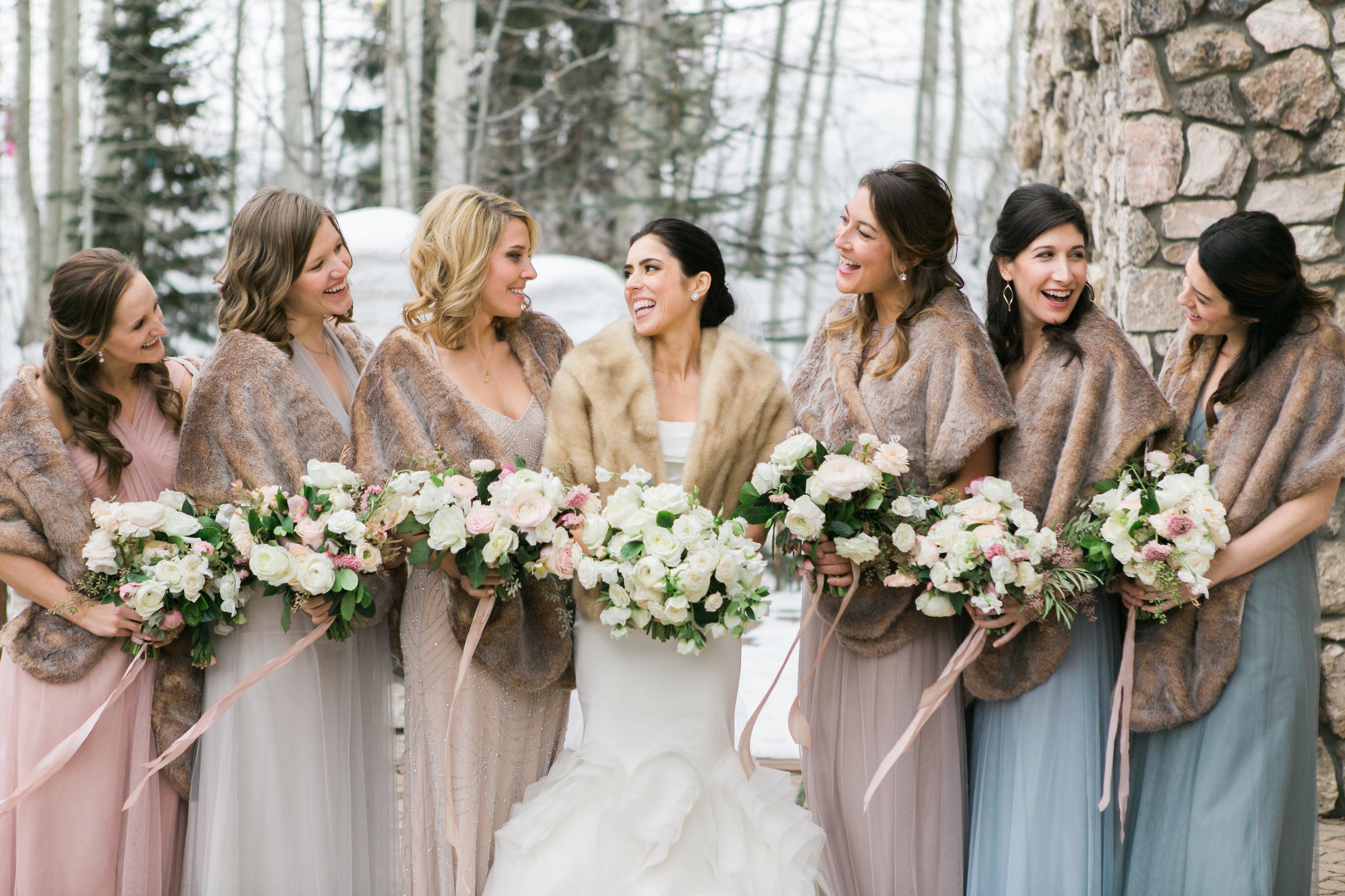 Romantic Chic Winter Wedding - Bella Design & Planning