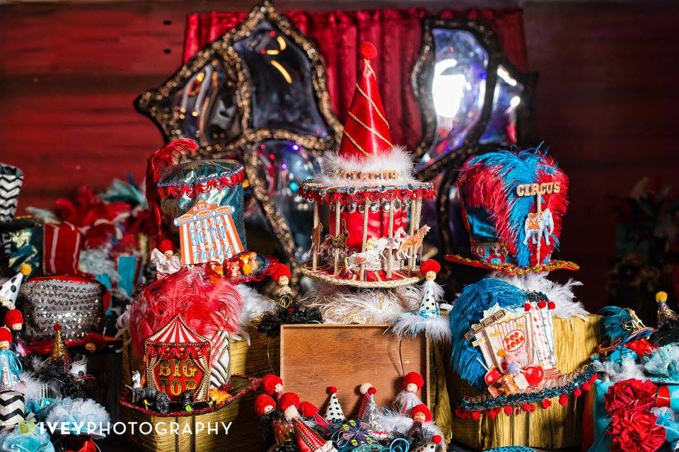 Circus Theme Bat Mitzvah - Prashe Decor