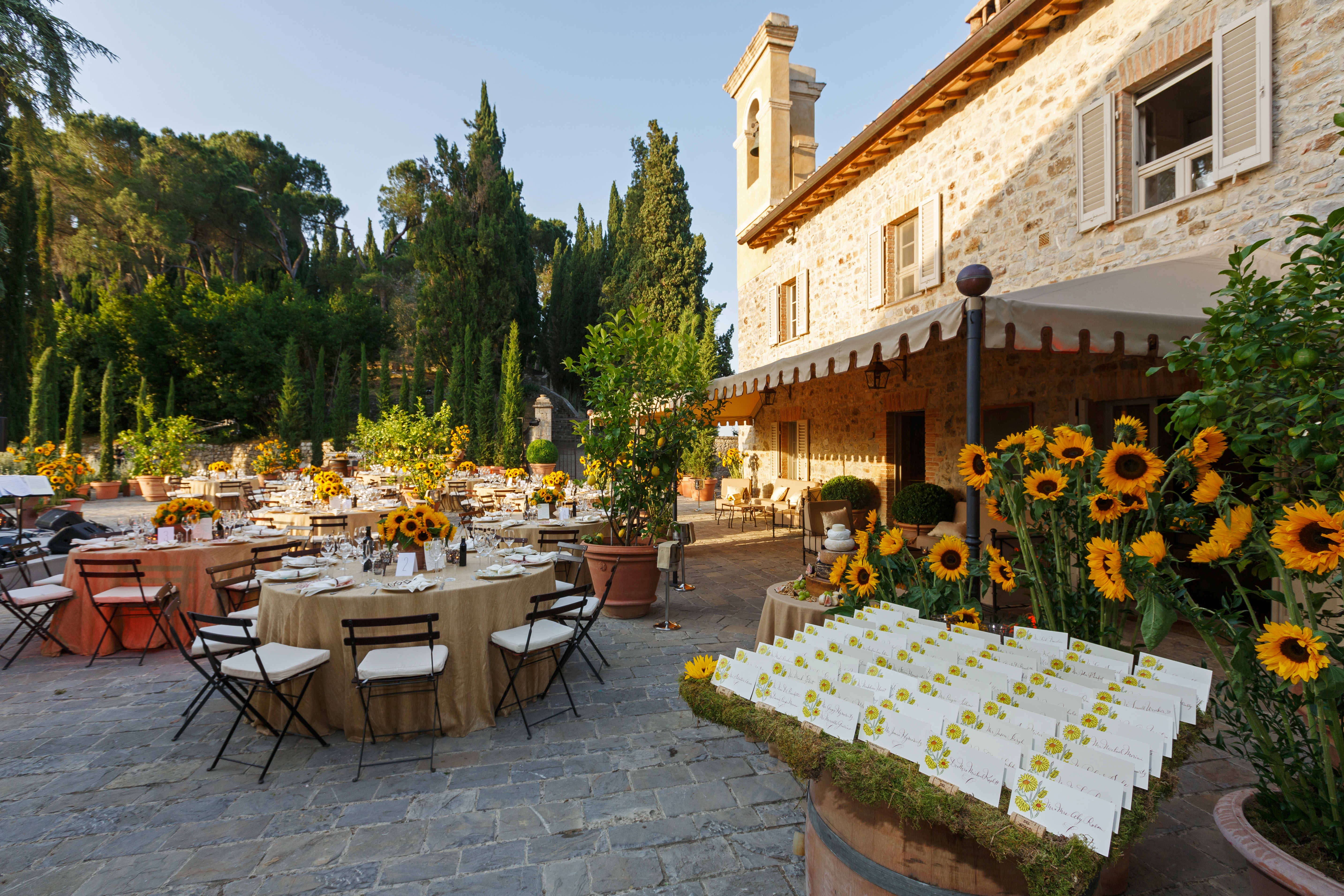 Stunning Tuscany Wedding Weekend - Colin Cowie Lifestyle