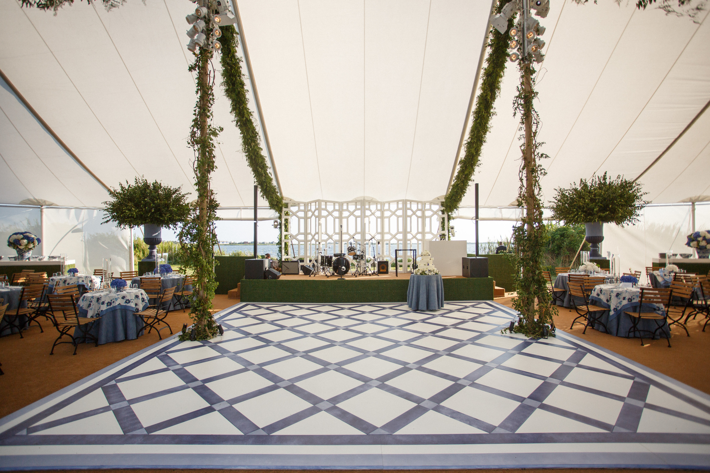 Classic Blue & White Wedding - David Monn