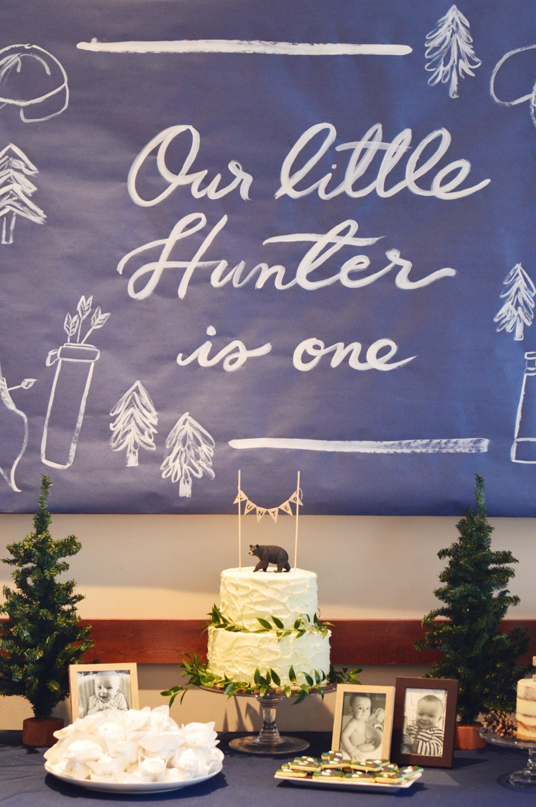 Our Little Hunter is One - Wrap It Up Parties