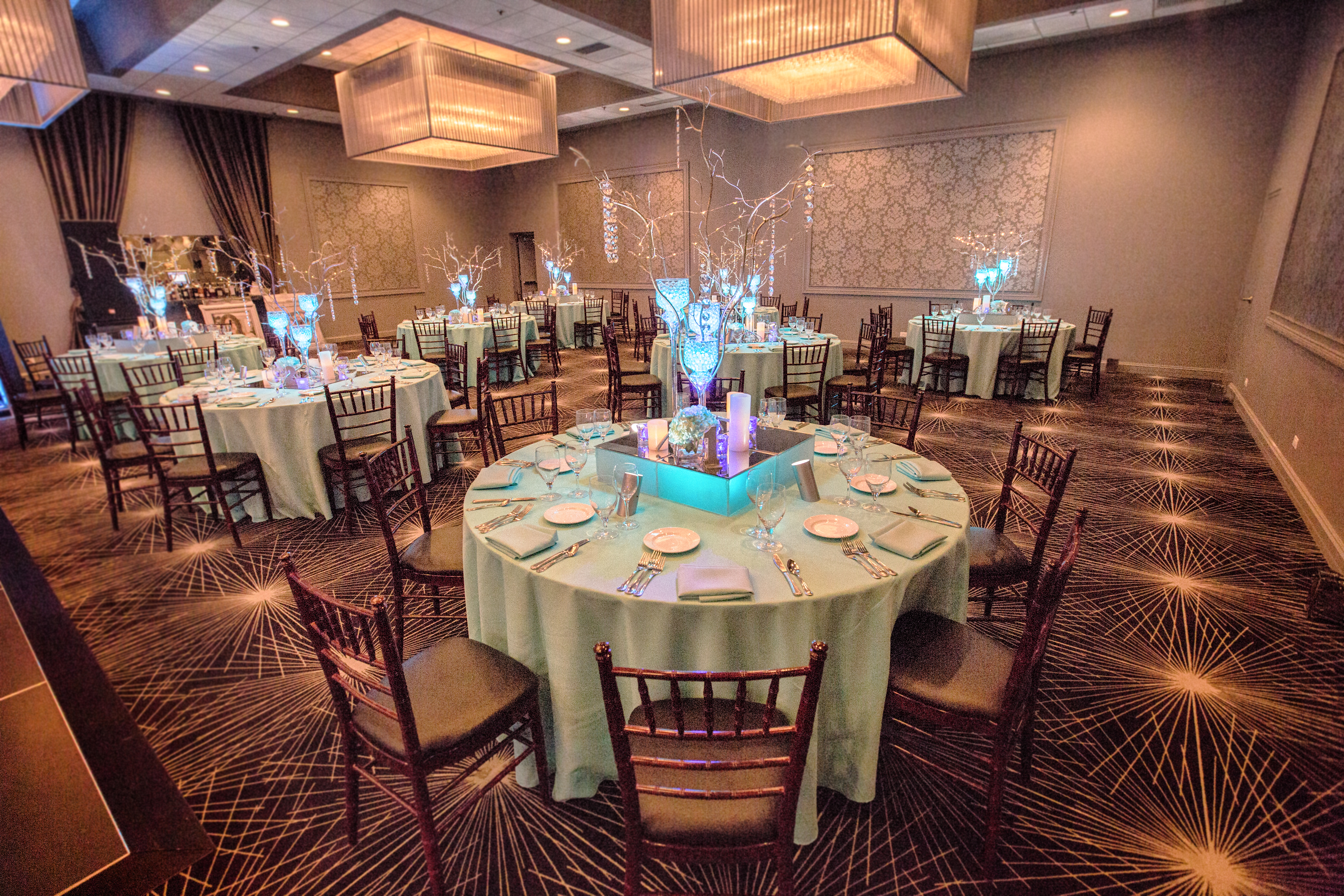 Katie & Co. Beautiful Blue Bat Mitzvah - The Estate by Gene & Georgetti