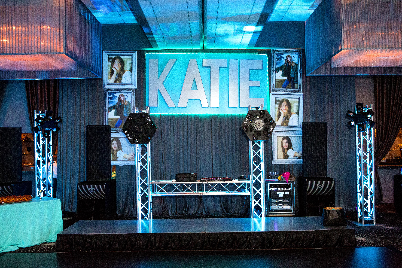 Katie & Co. Beautiful Blue Bat Mitzvah - The Estate by Gene & Georgetti