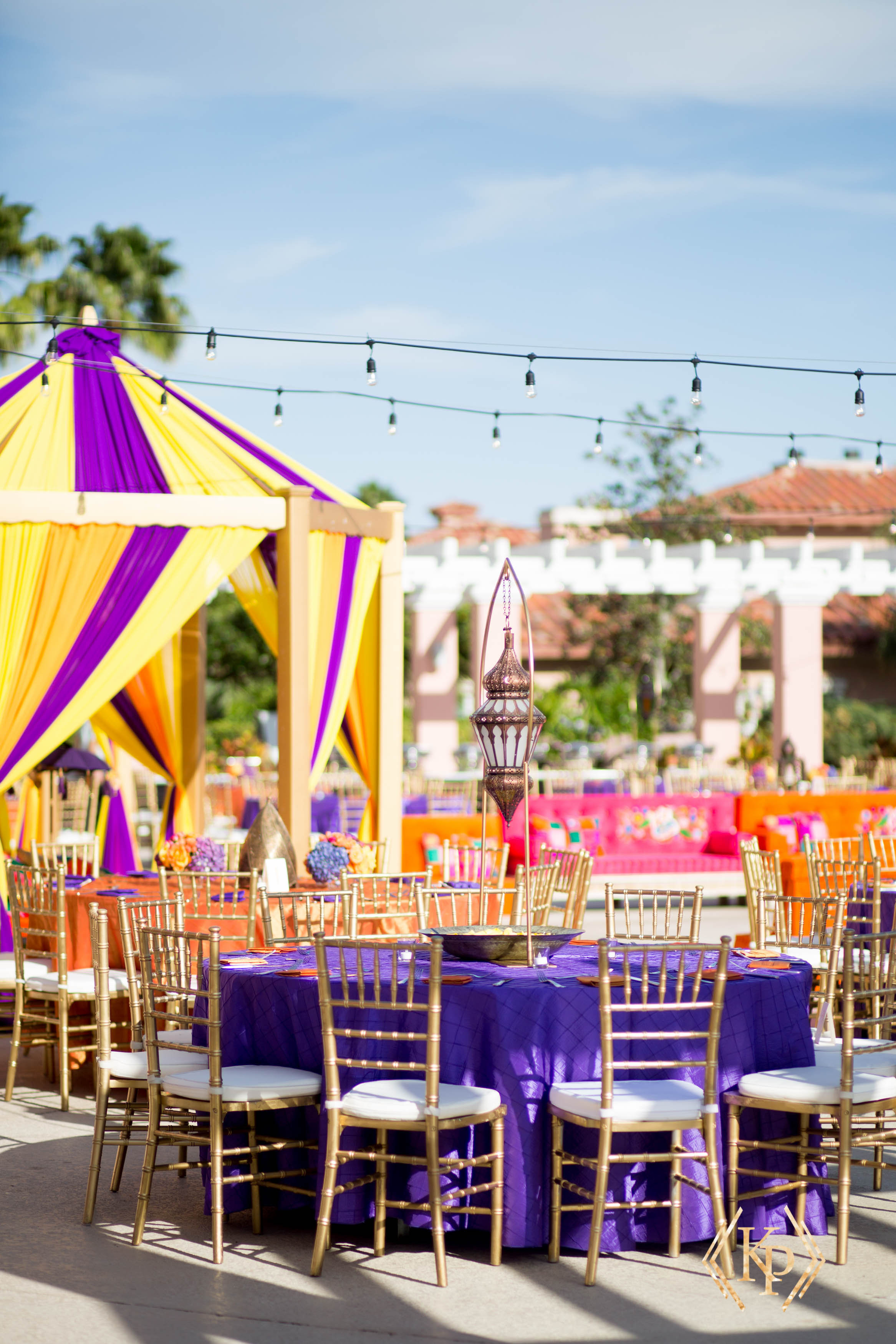 Vibrant Indian wedding at Vinoy Renaissance Resort - Tracie Domino Events