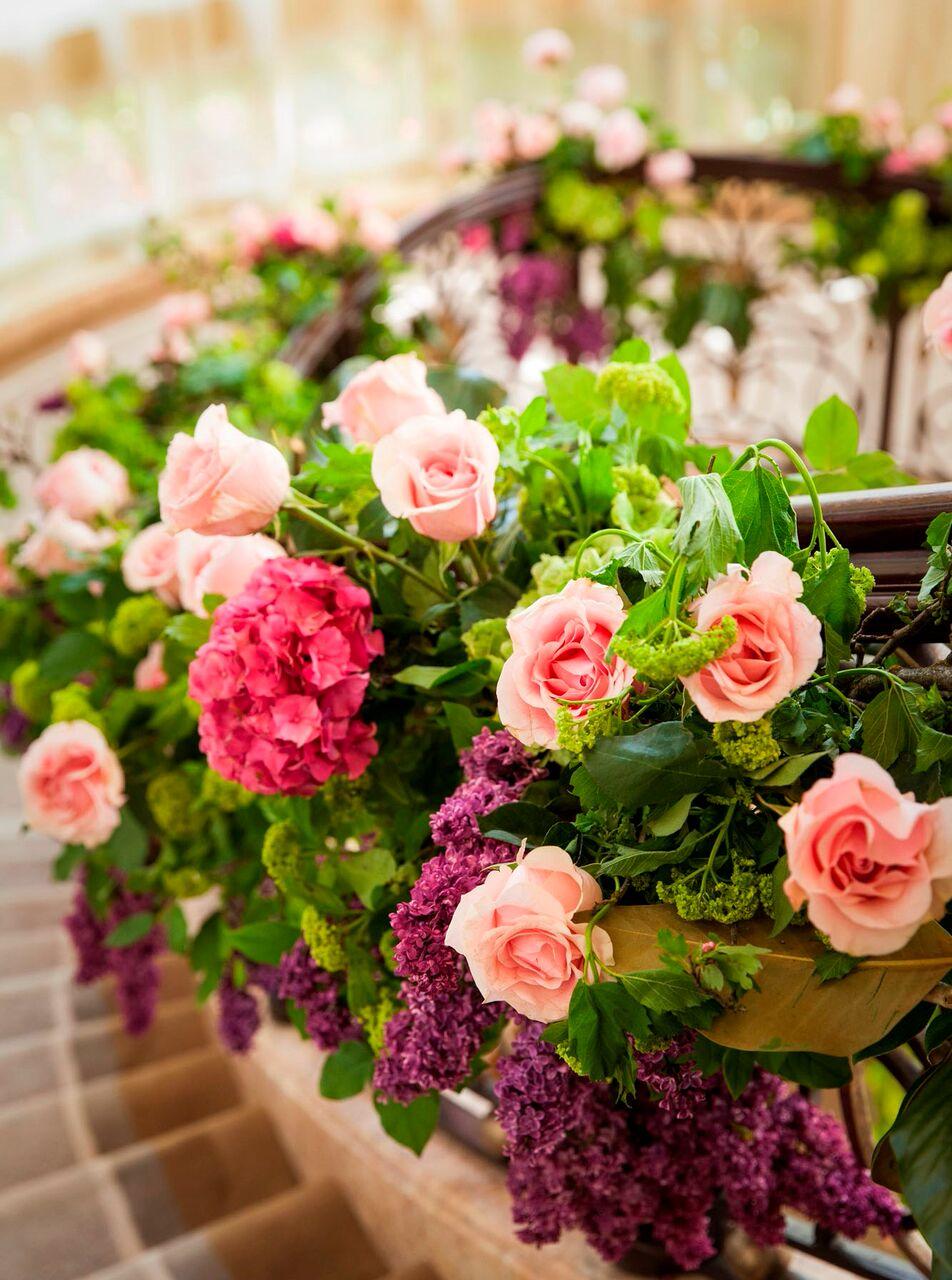 Colorful Pink & Green Wedding - Marks Garden