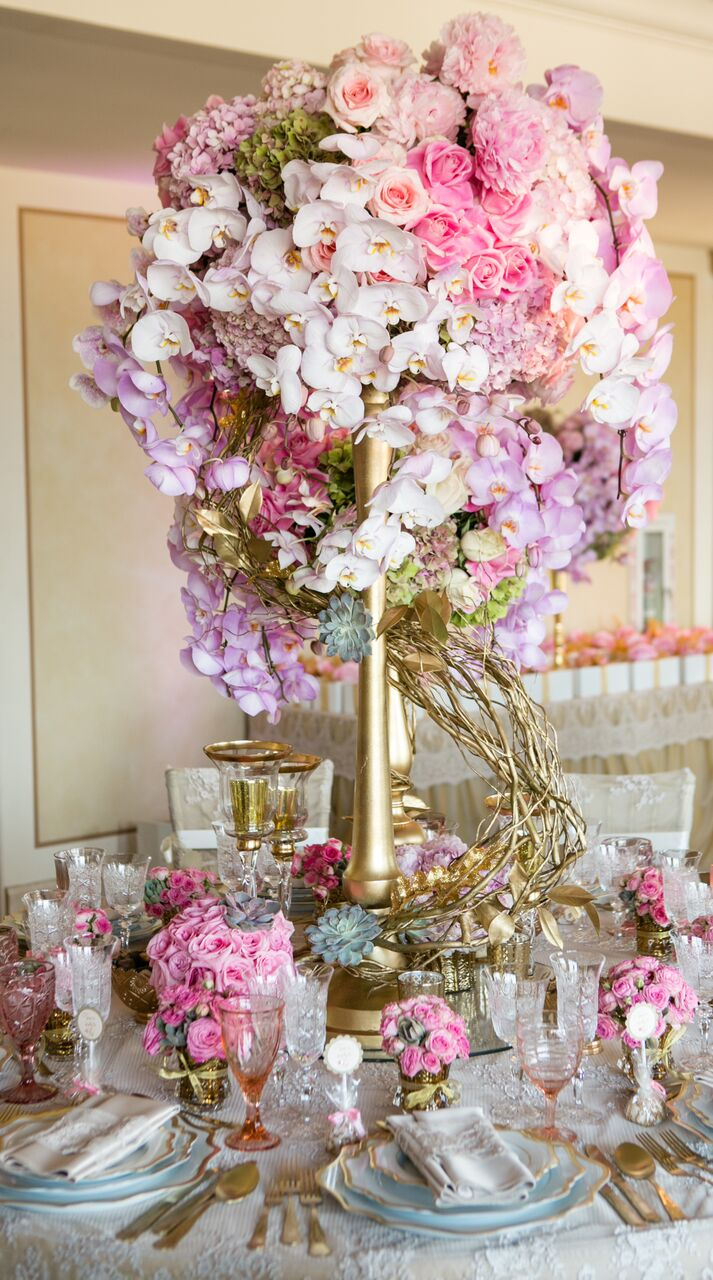 Perfect Pink Surprise Birthday Party - Marks Garden