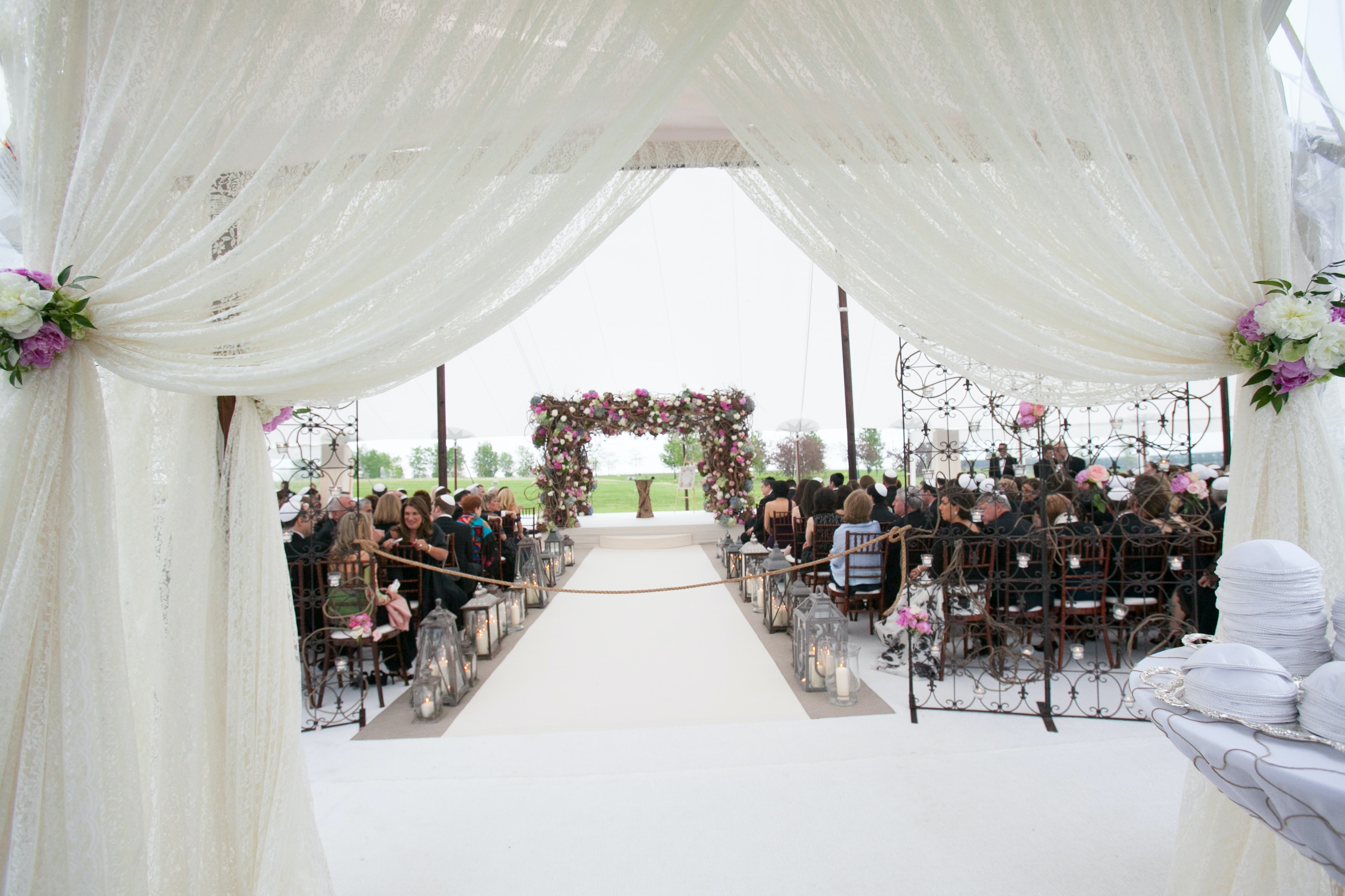 J&L Catering | fairy tale wedding- Northerly Island | PartySlate