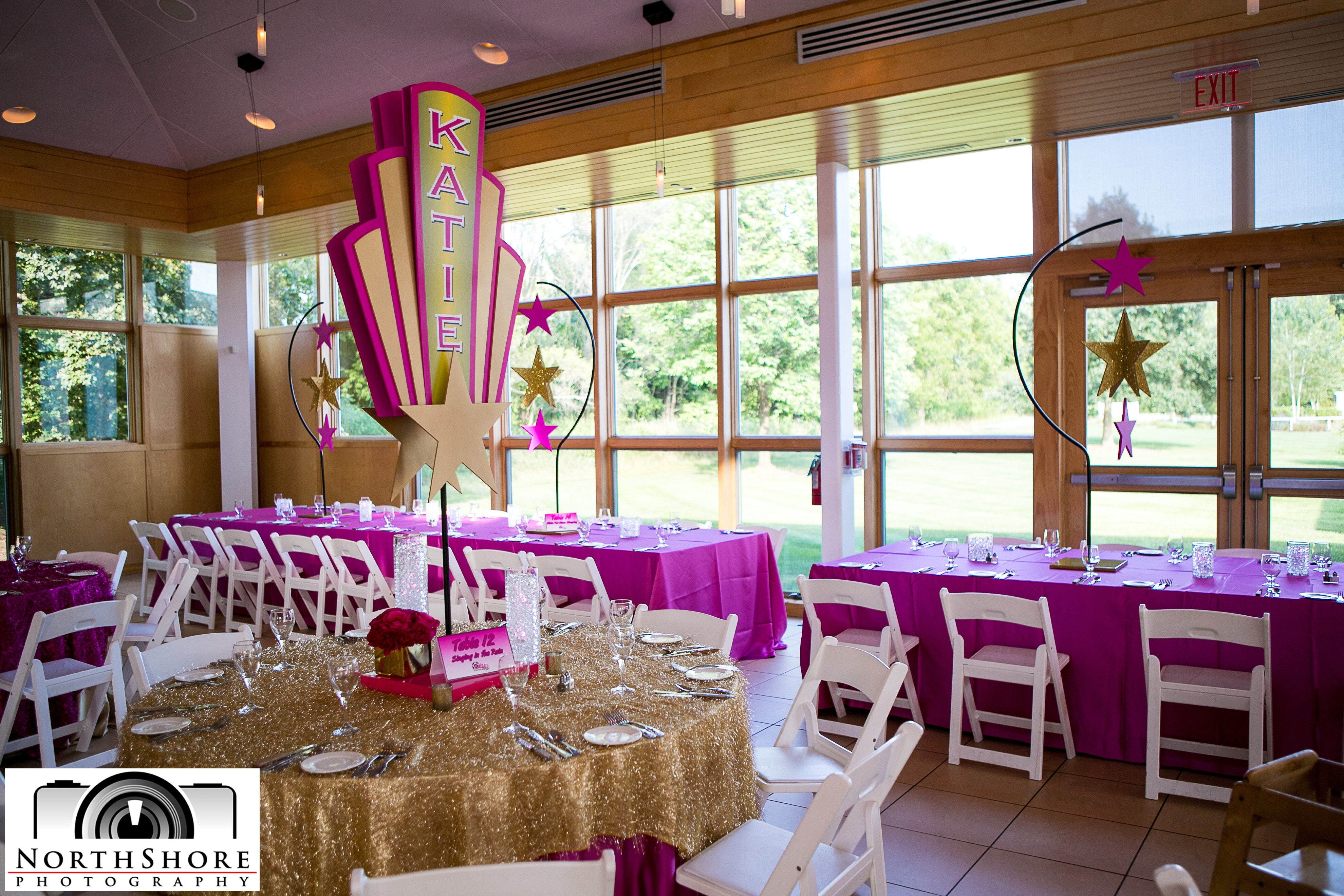 Popping Pink Hollywood Themed Bat Mitzvah - Effortless Events
