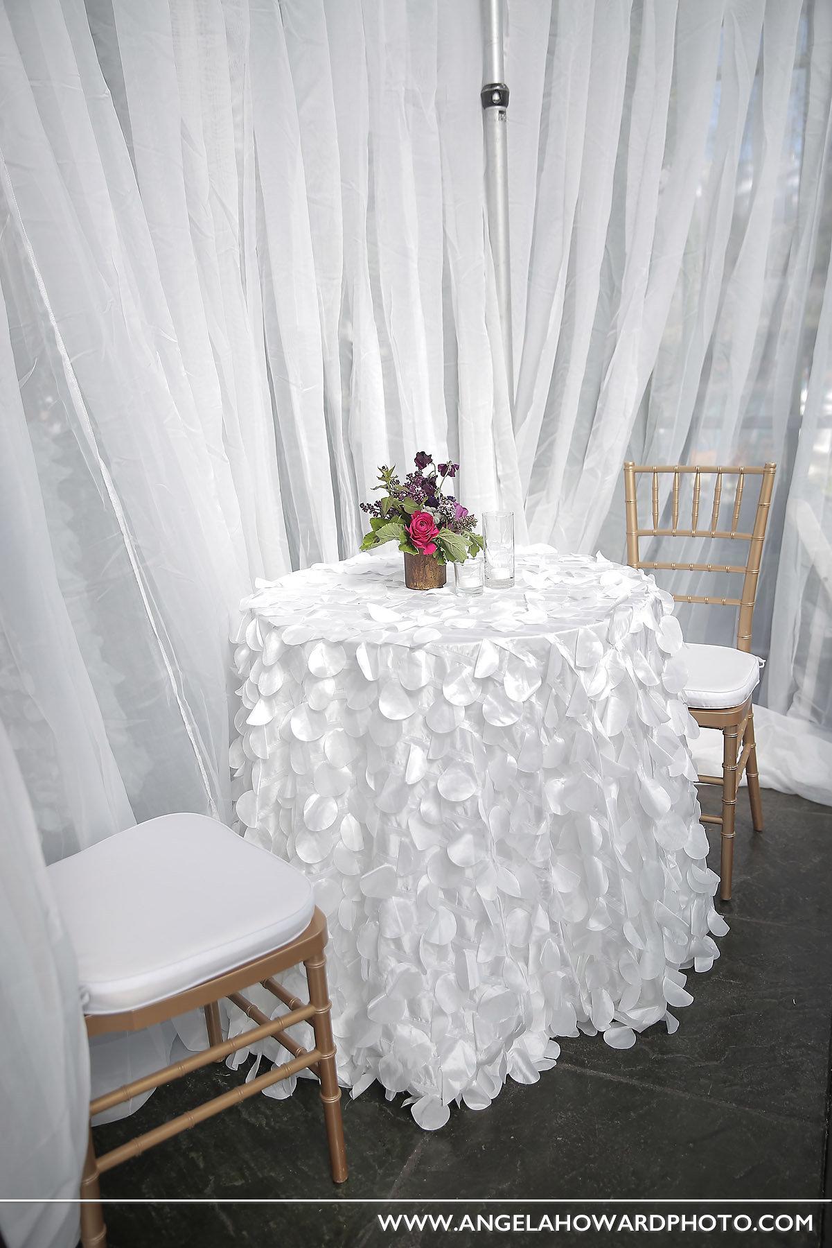 Utah Bride & Groom White Party - Creative Coverings