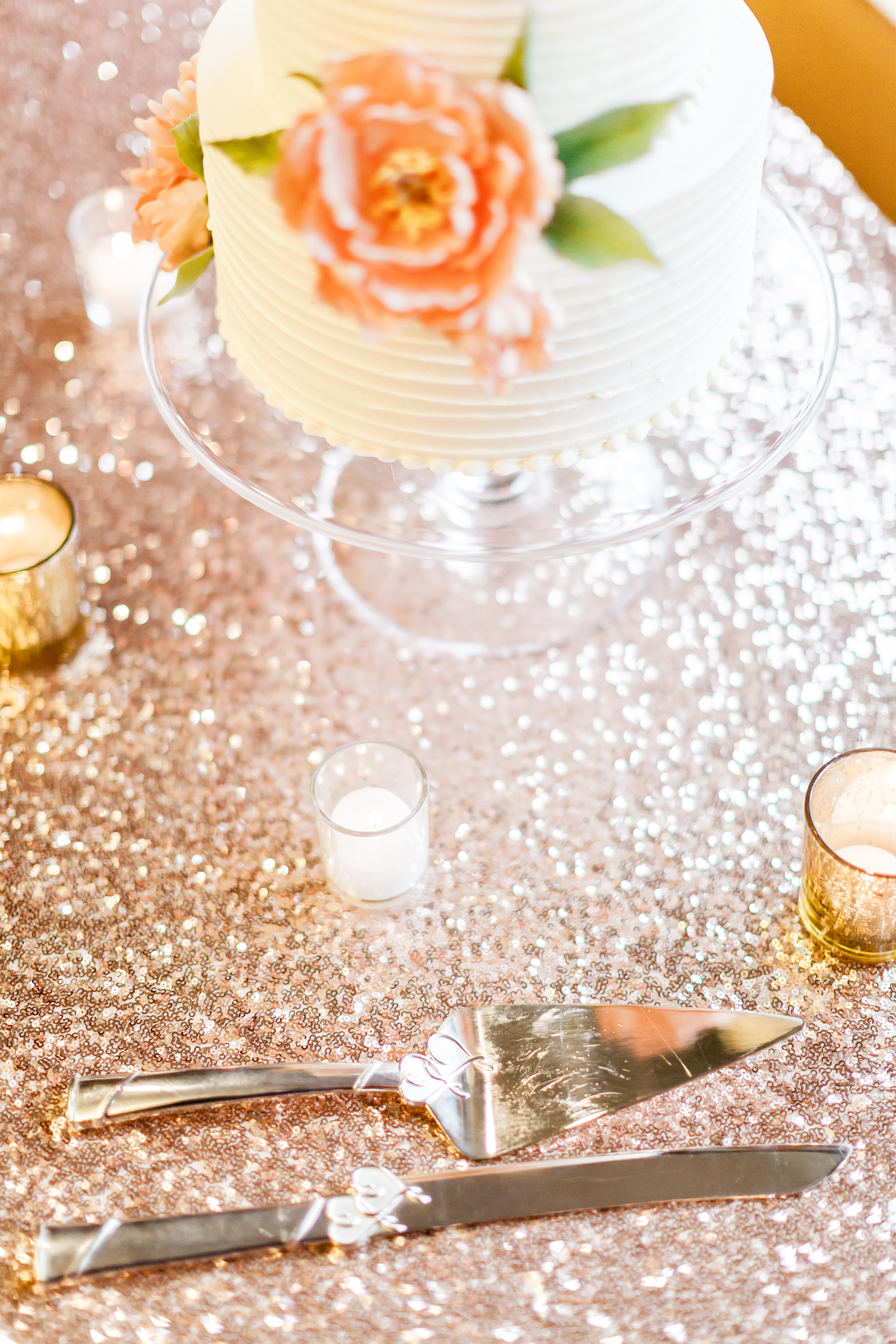 Gold Lustre Wedding - Creative Coverings
