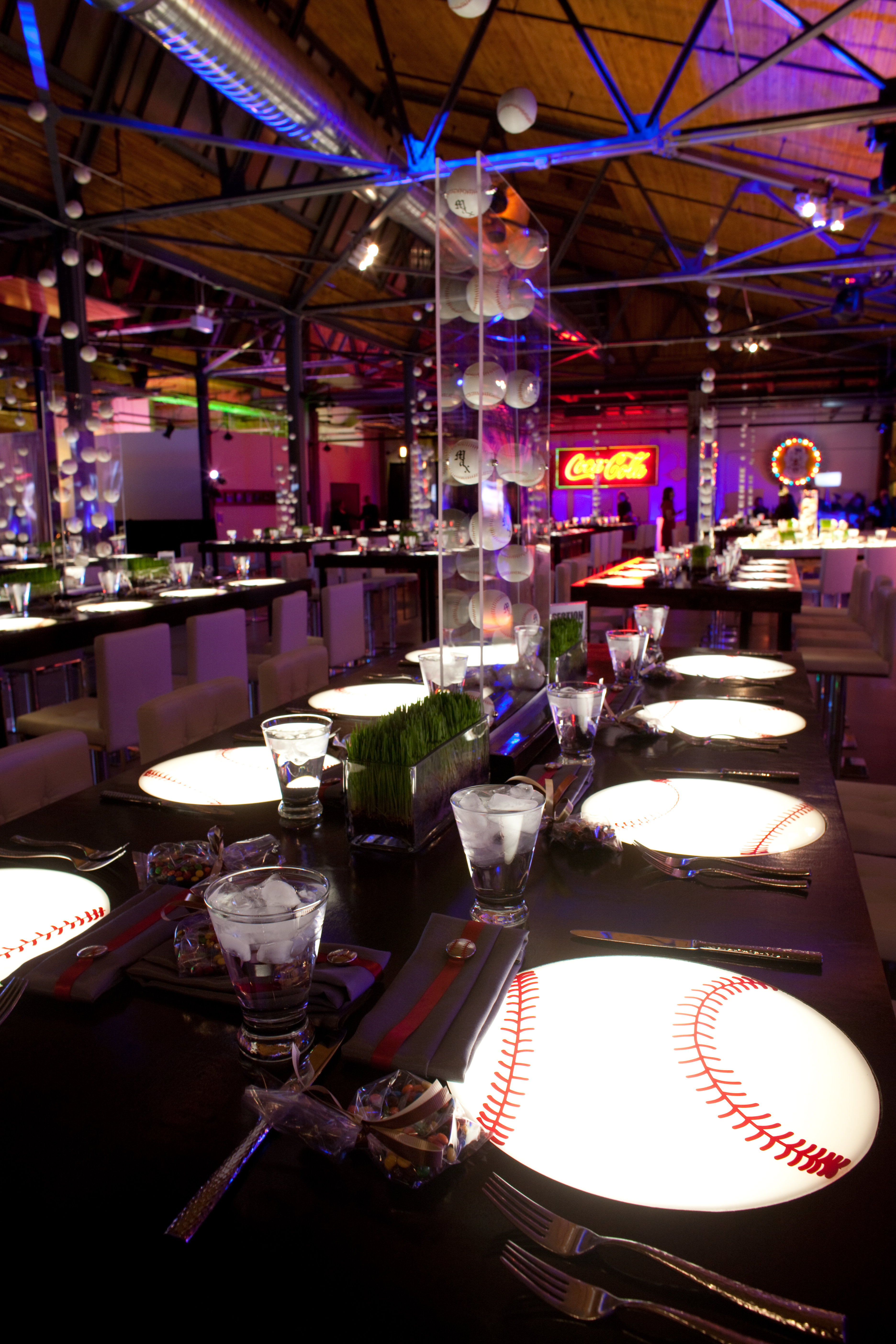Major League Baseball Themed Bar Mitzvah - Event Creative