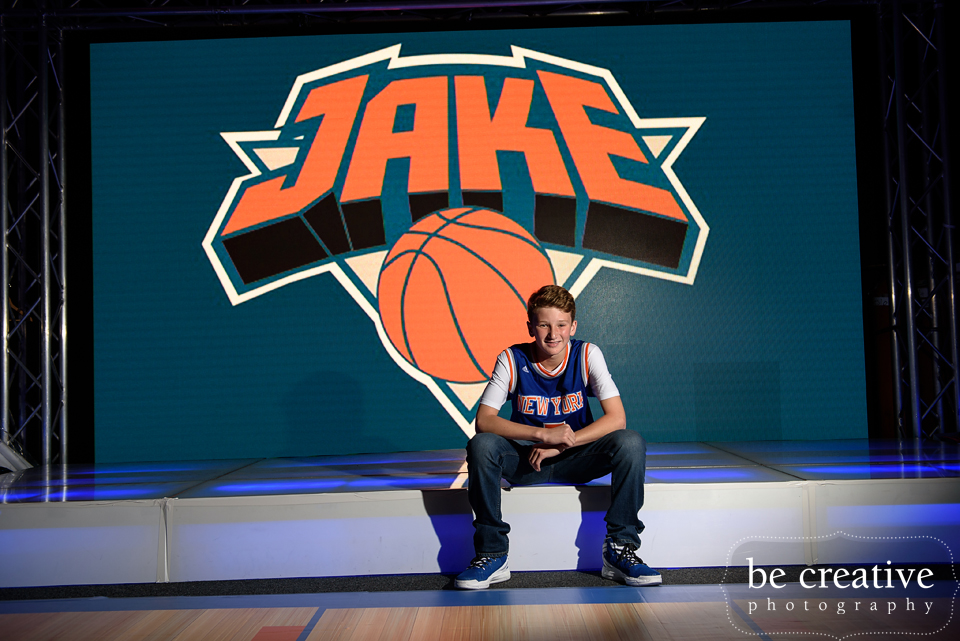 Basketball Themed Bar Mitzvah - Jersey Street Productions